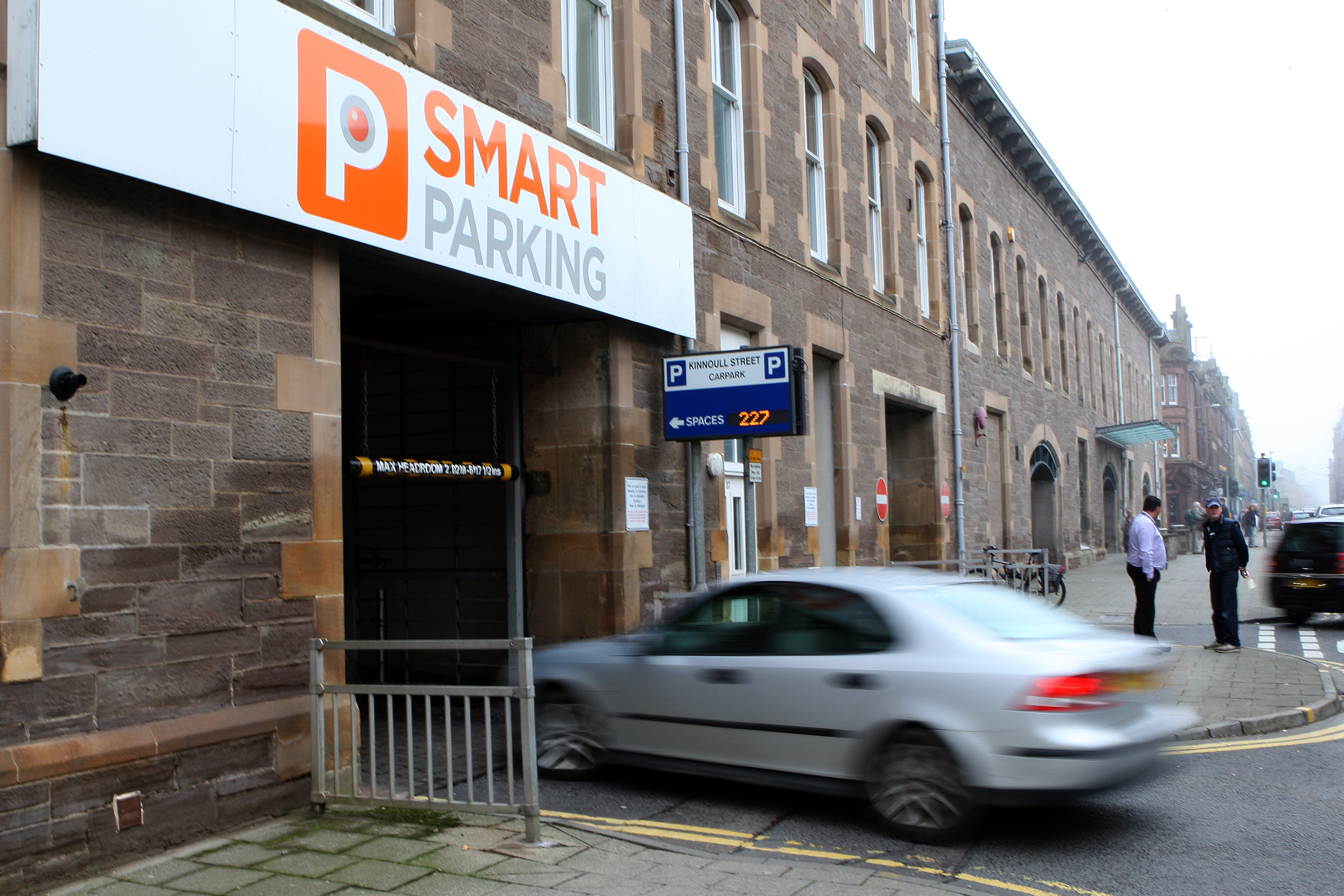 Smart Parking's Kinnoull Street car park in Perth.