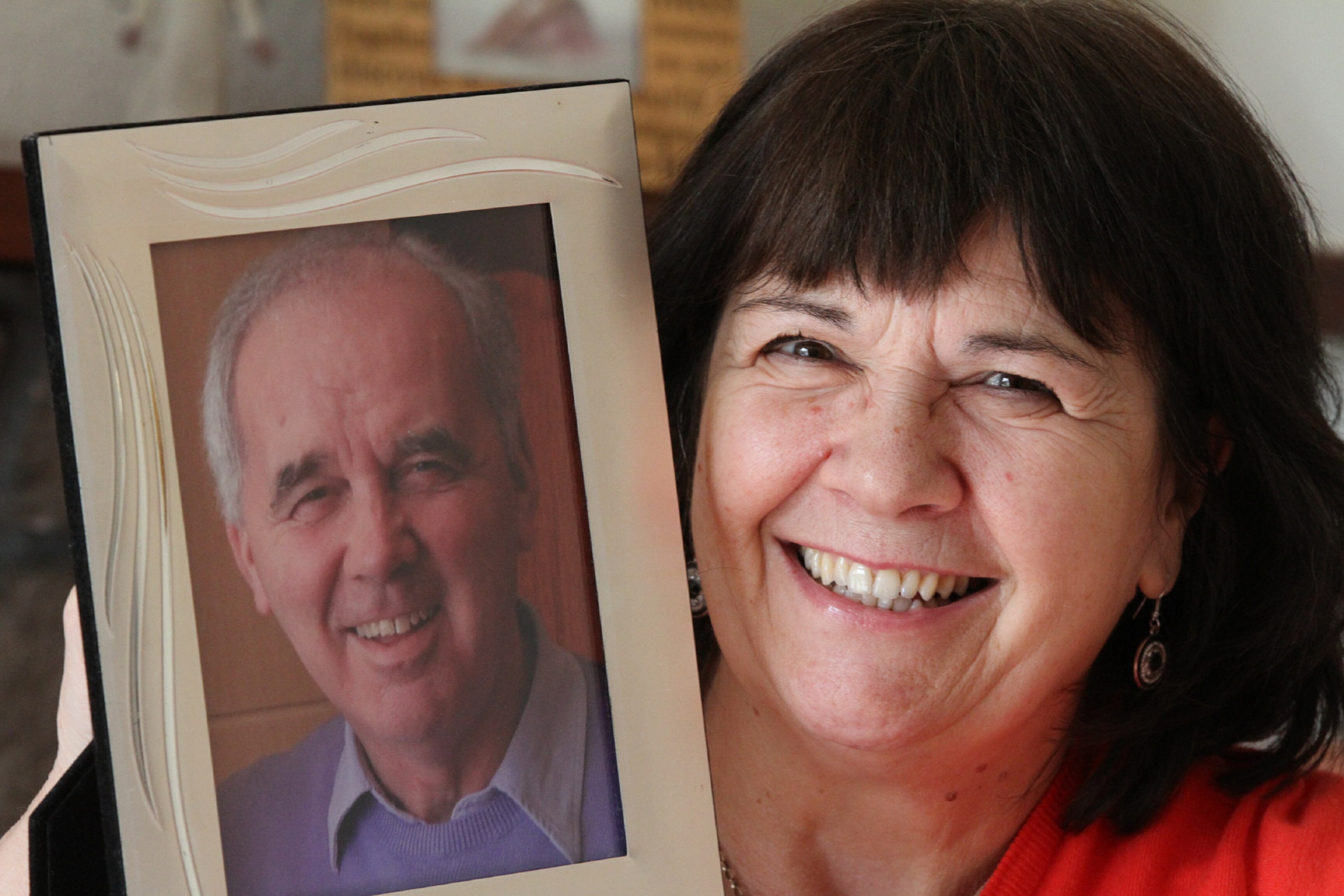 Amanda Kopel, whose footballer husband Frank had dementia.