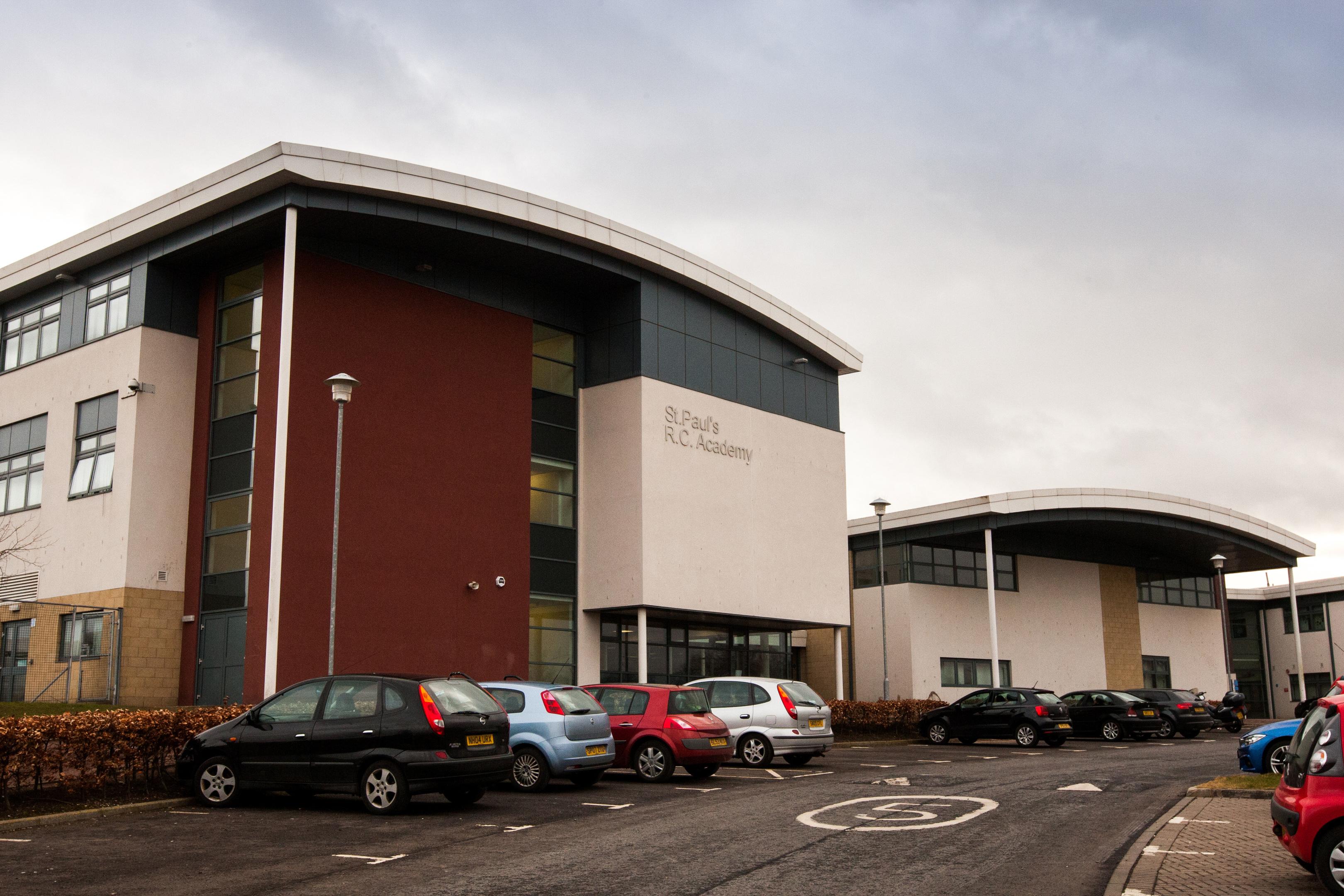 St Paul's Academy on Gillburn Road.