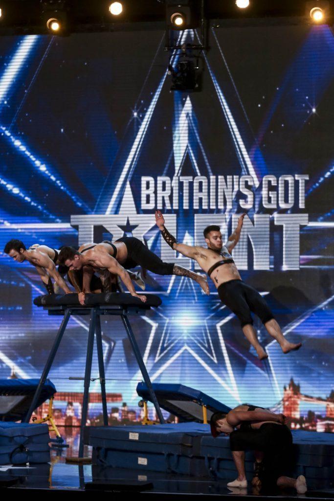 Spartans Resurrection on Britains Got Talent