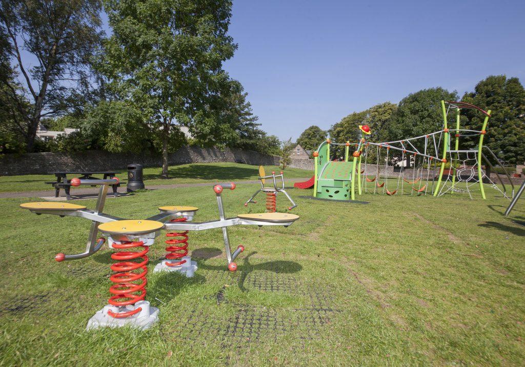 Vandalism at Forfar Parks