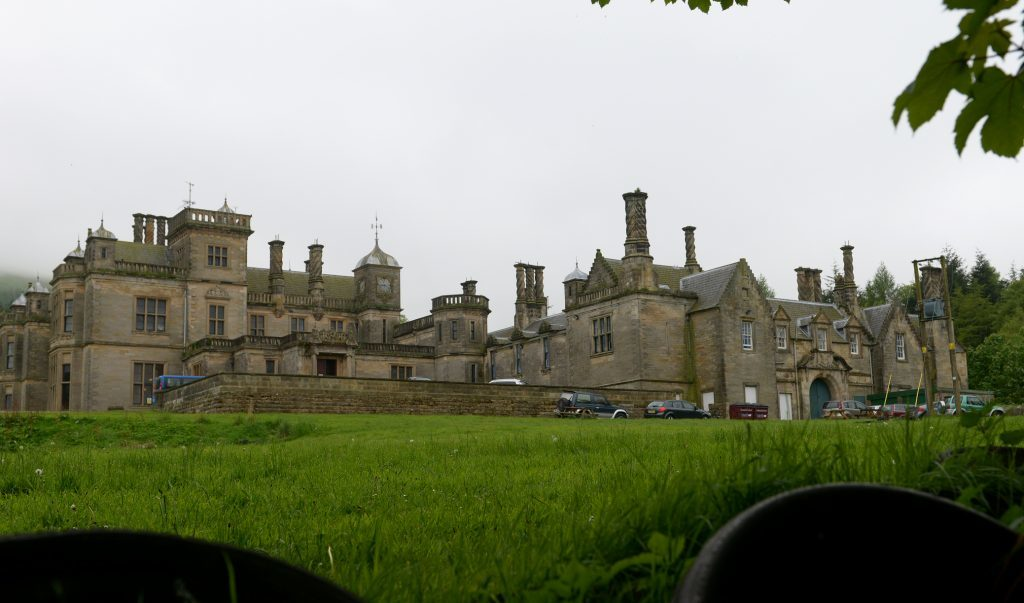 The former St Ninian's School in Falkland.