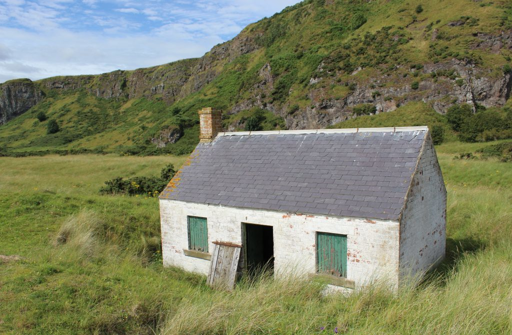 4 - Former salmon bothy in the dunes - James Carron, Take a Hike