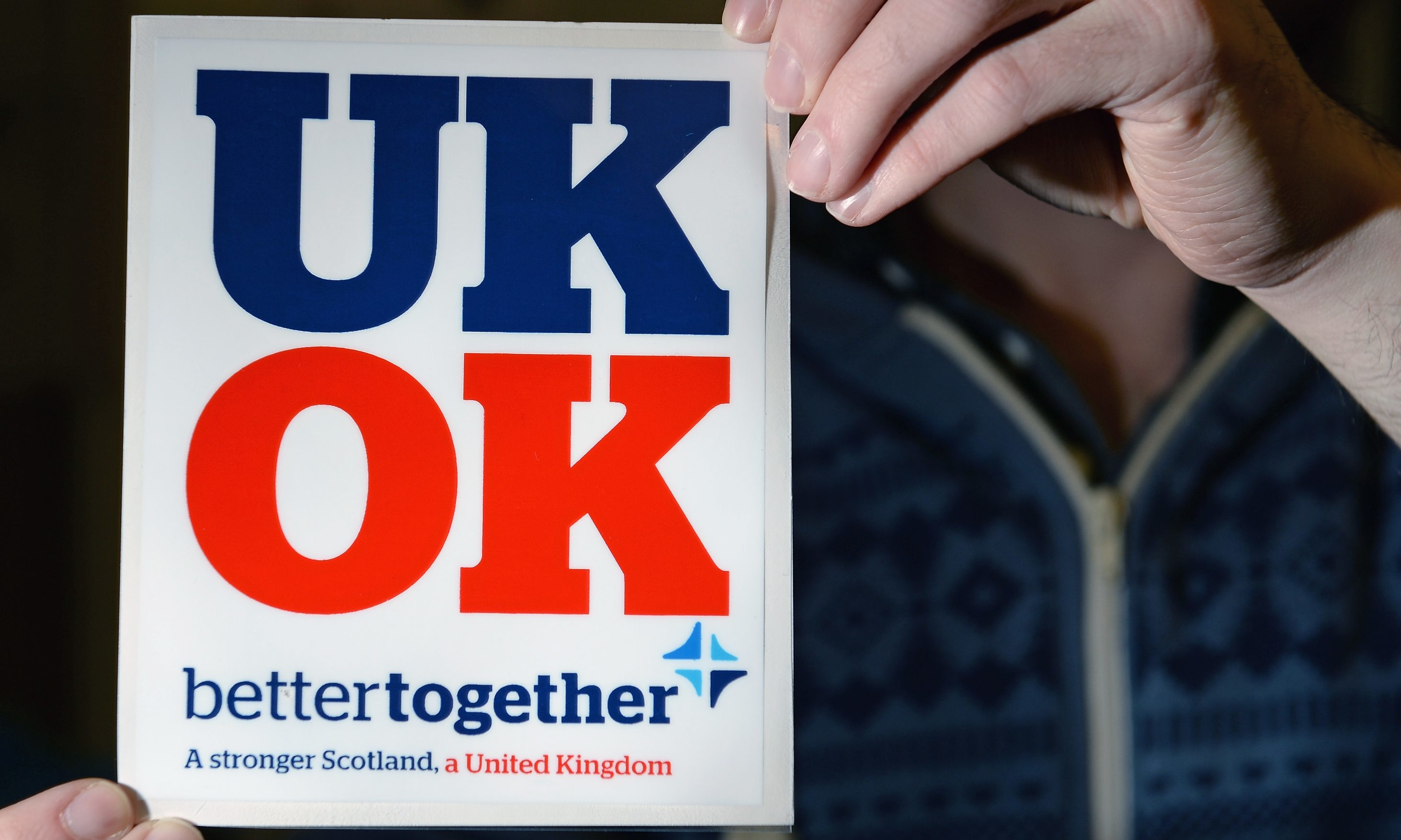Our lead letter writer says the Better Together campaign is 'dead'.