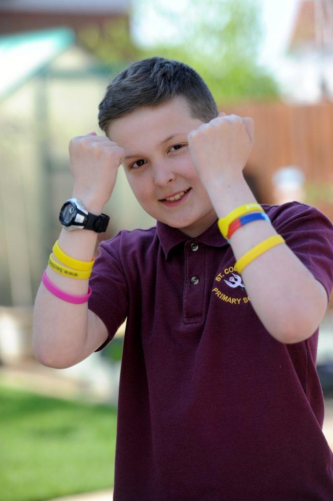 Cupar lad Toby Etheridge who is battling cancer