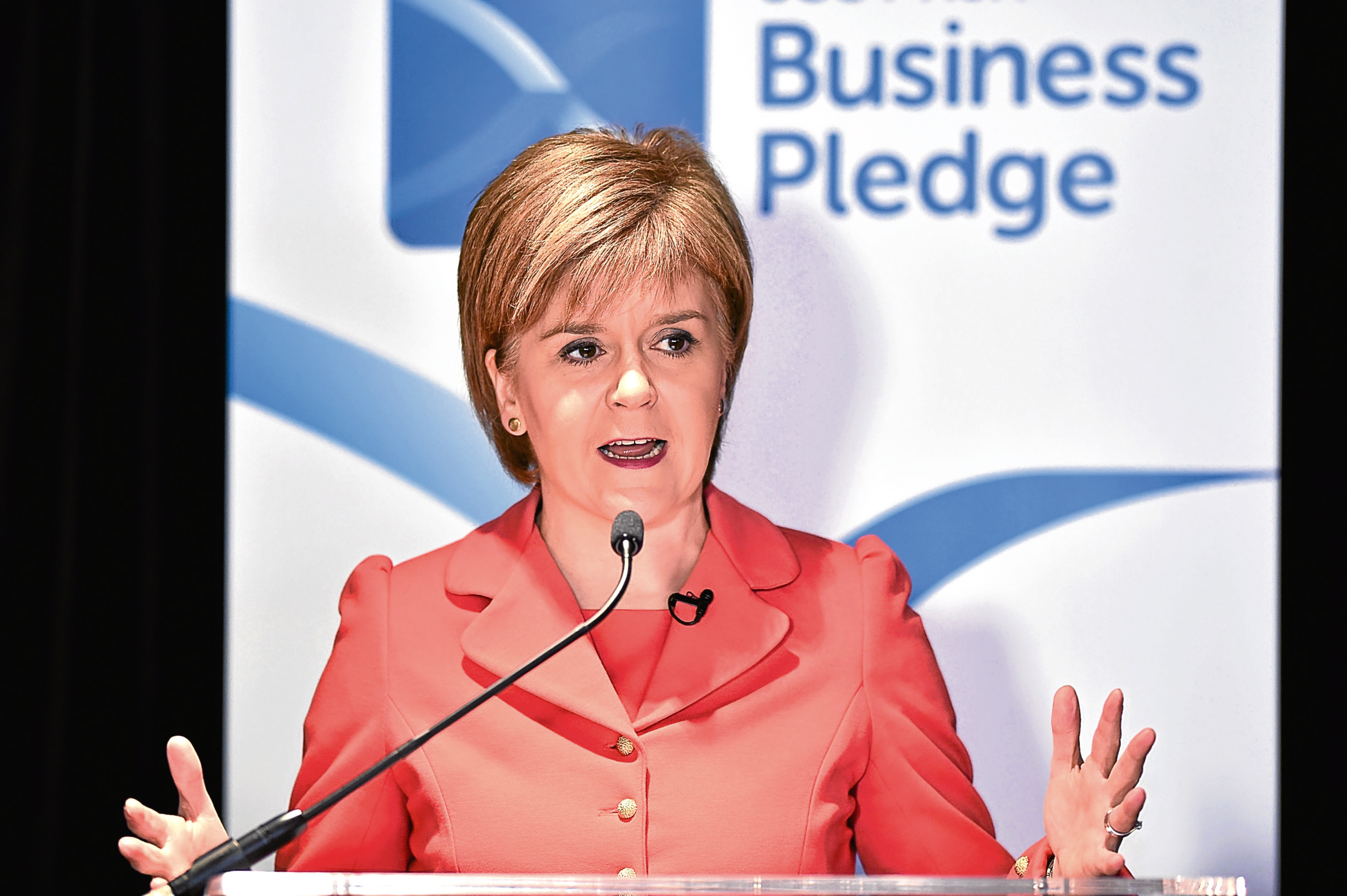 There is no appetite for another referendum, Nicola.....