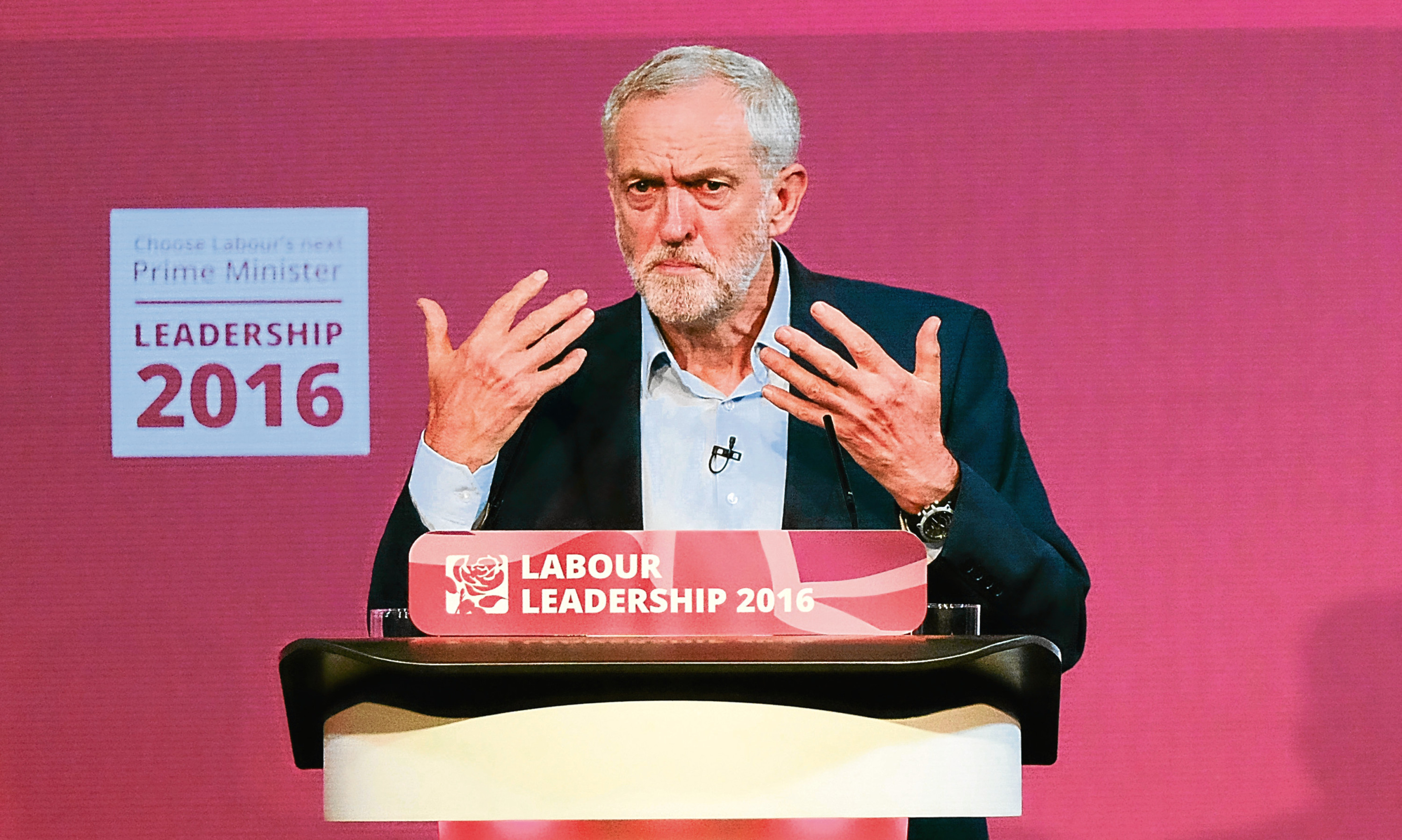 Jeremy Corbyn is battling to keep his leadership of the Labour Party.