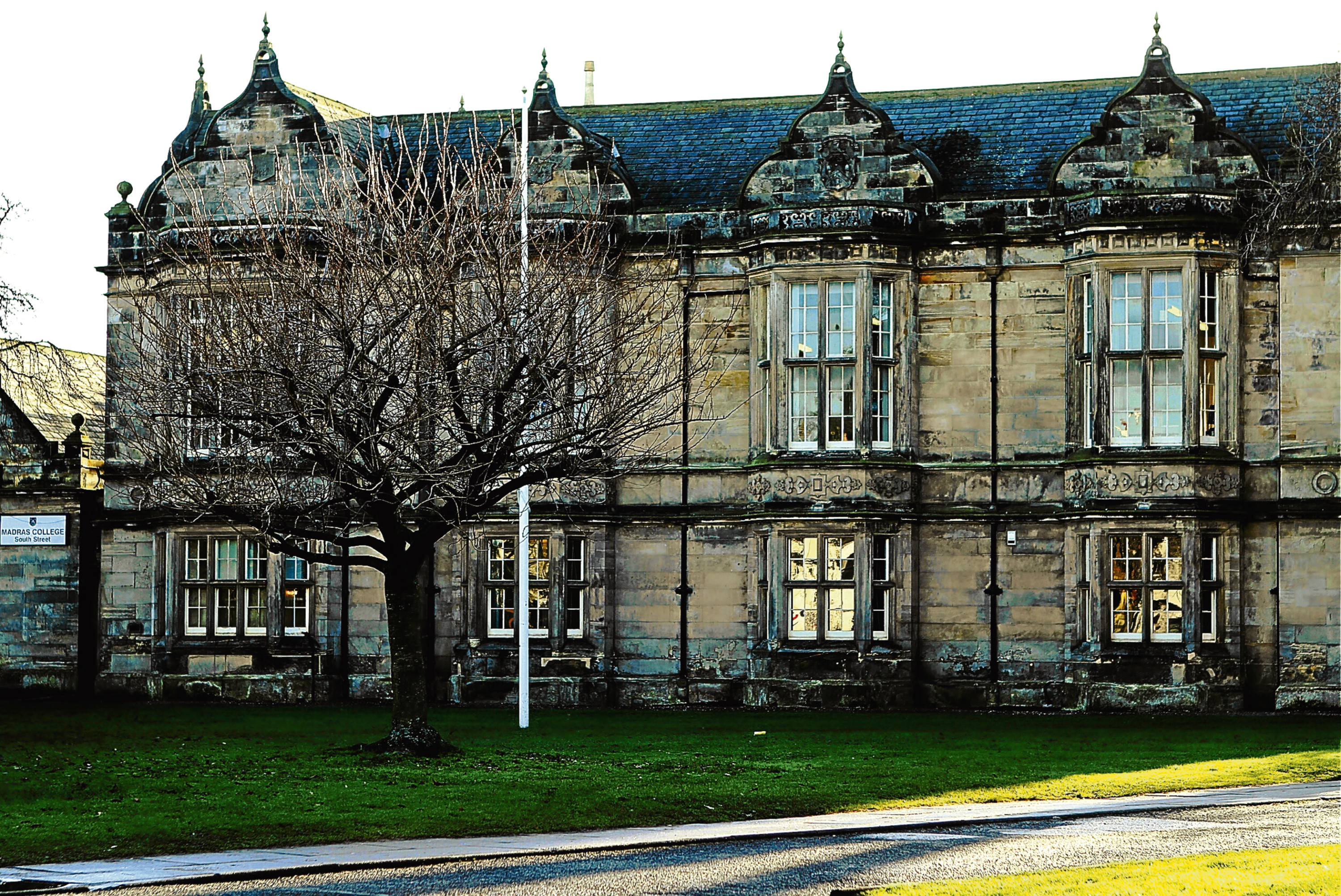 The Madras College South Street Building.