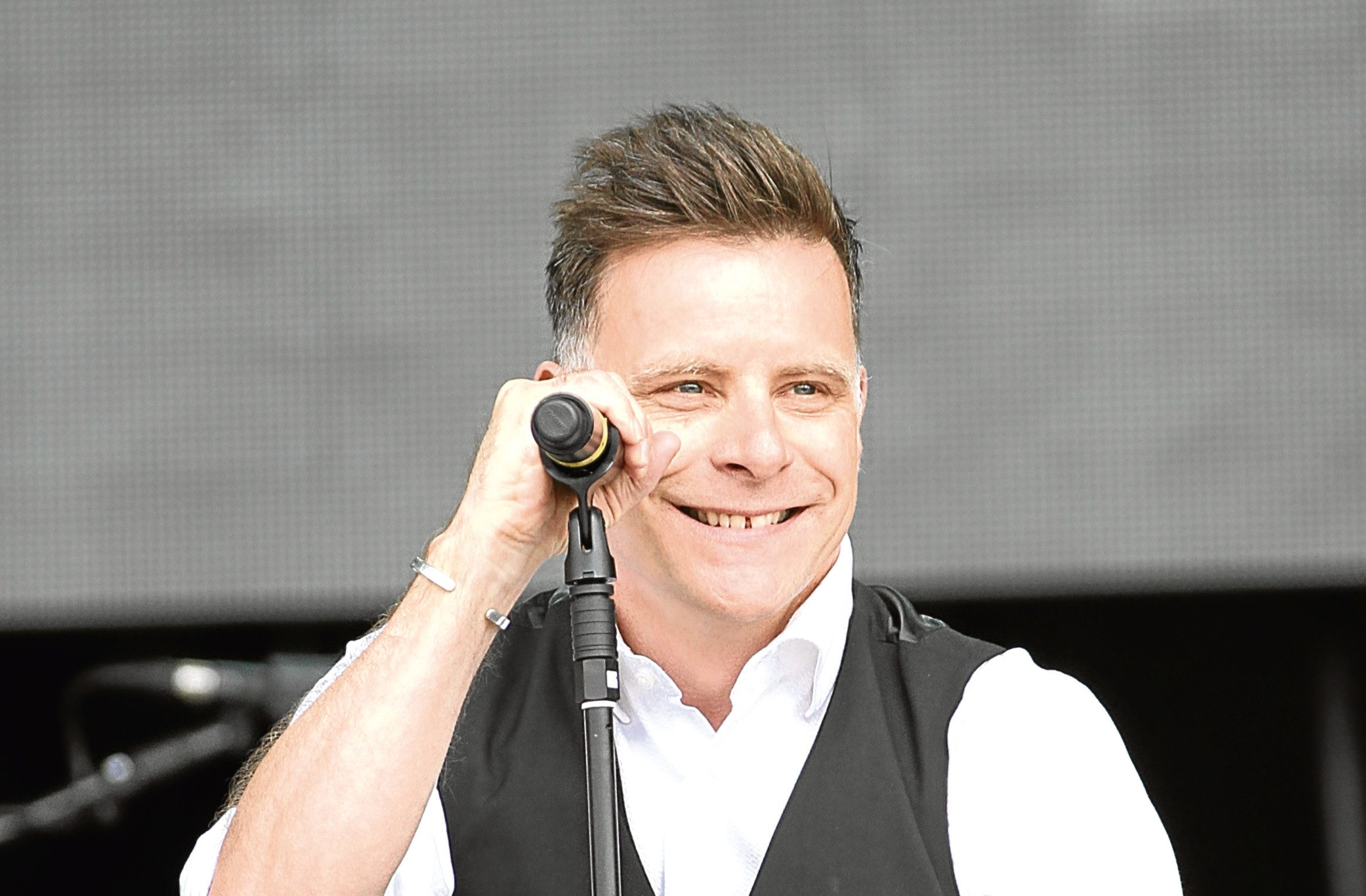 Ricky Ross of Deacon Blue.