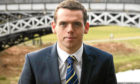 New Scottish Tory leader Douglas Ross.