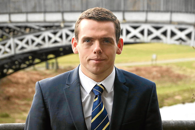 Scottish Conservative Shadow Secretary for Justice Douglas Ross