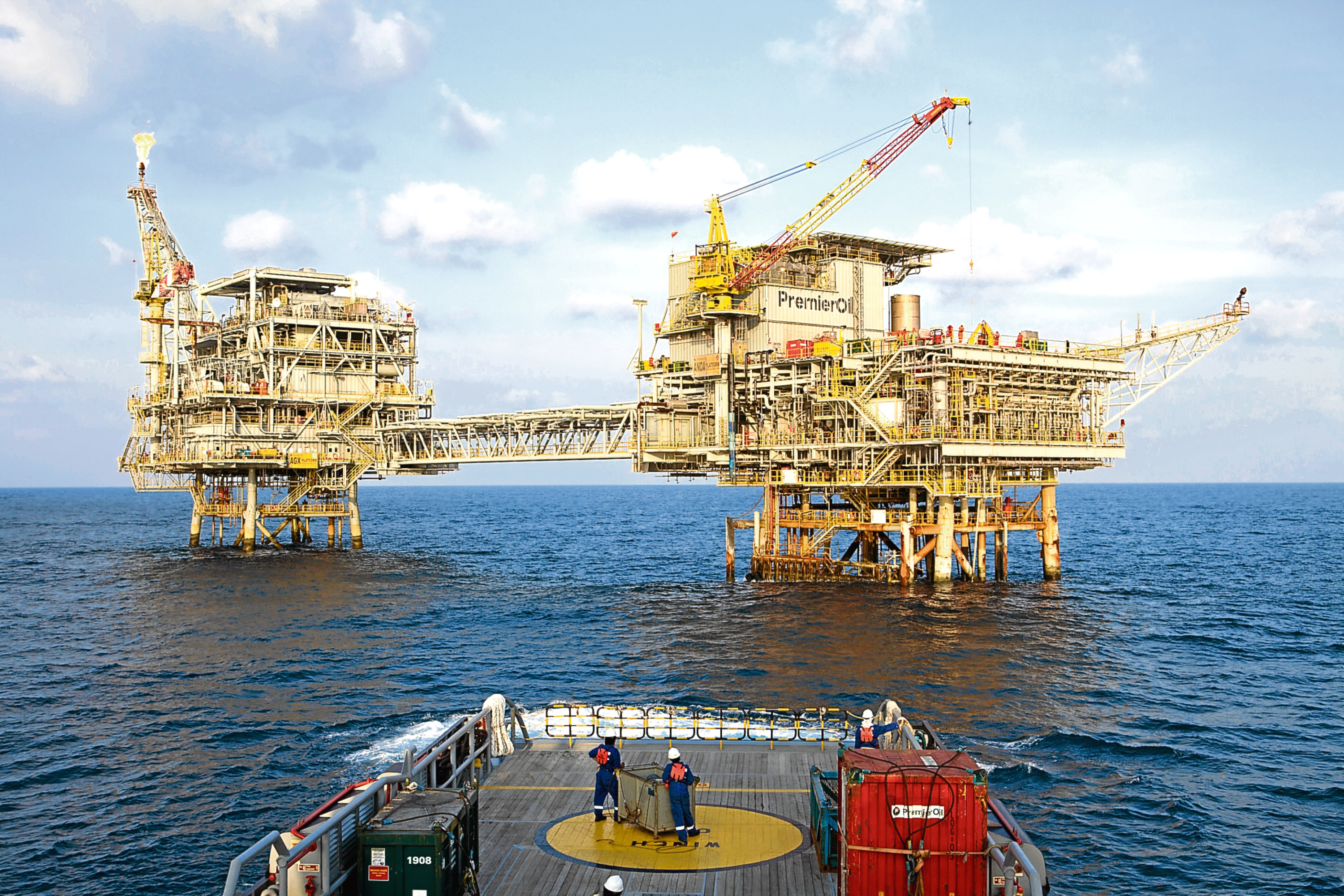 Premier Oil operations in Indonesia. The company has a global profile and has a significant presence in the UK North Sea.