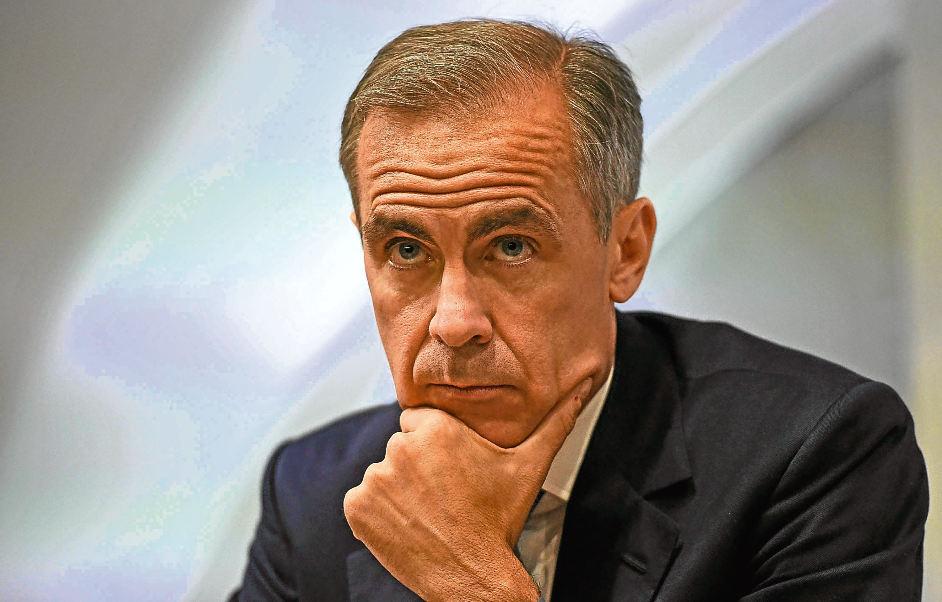 The Bank of England governor was Mark Carney until March 2020.