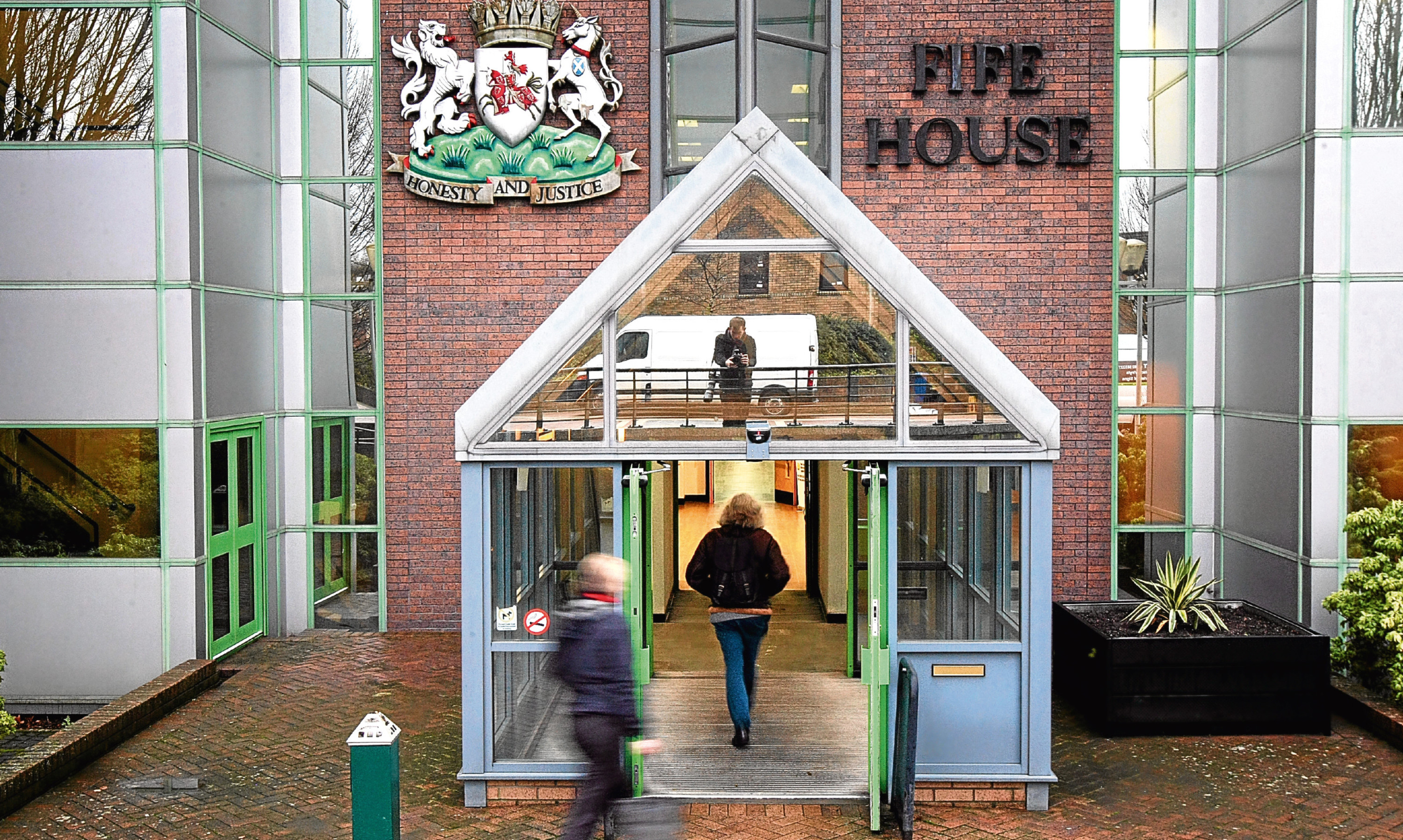 The plan will be considered at a meeting at Fife House.