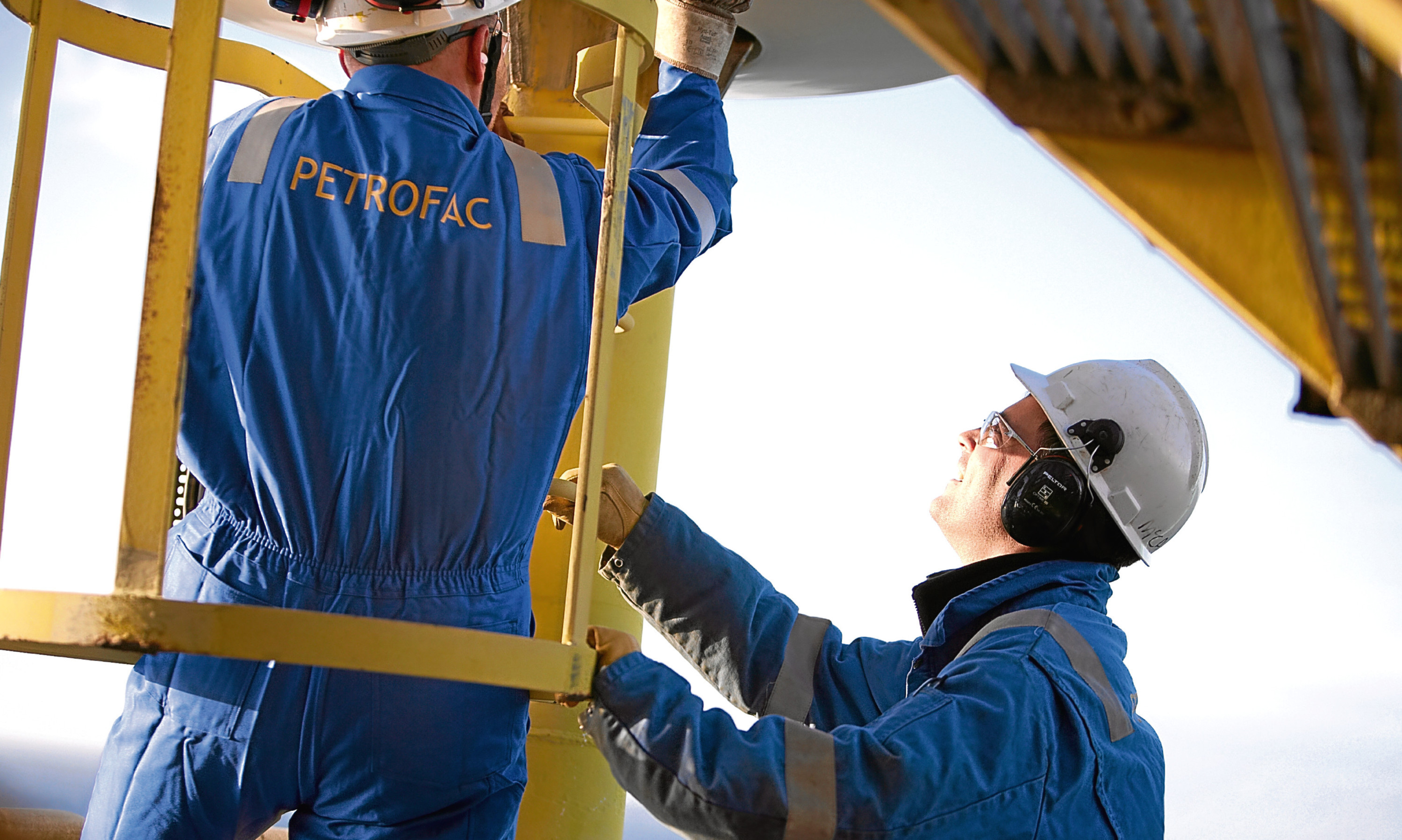 Petrofac engineers perform offshore operations