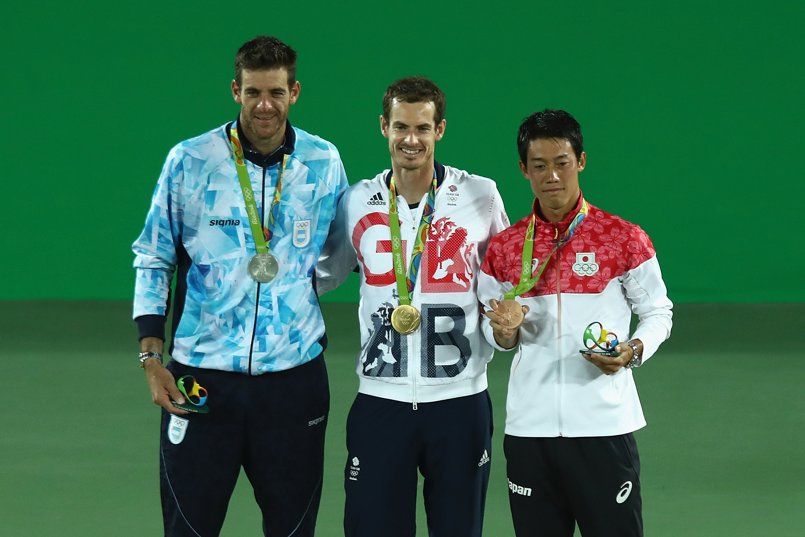 Double Olympic gold medallist Andy Murray