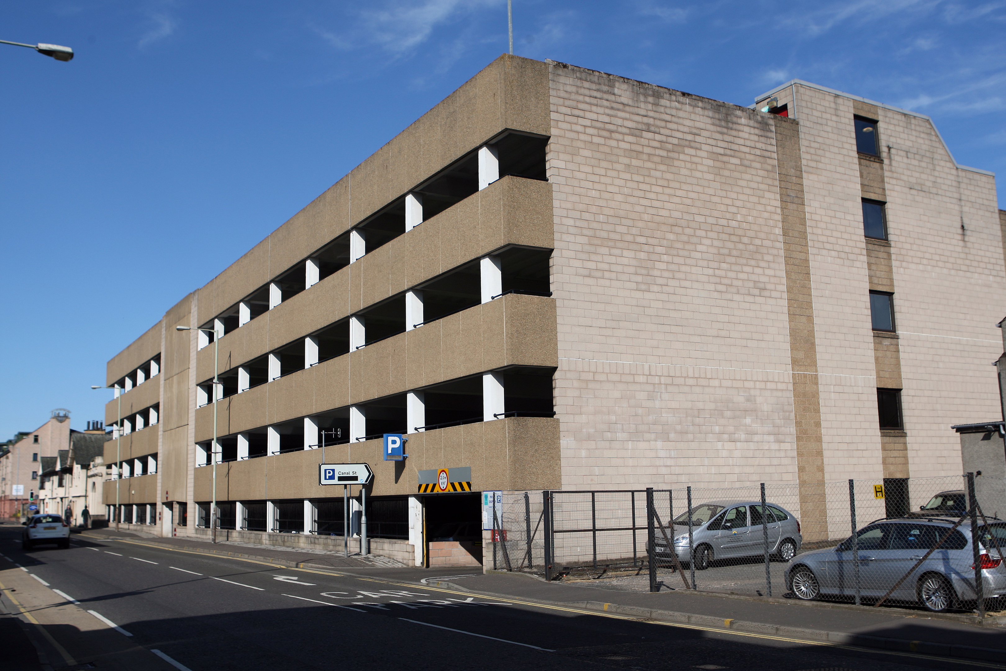 Canal Street multi-storey car park is among those included