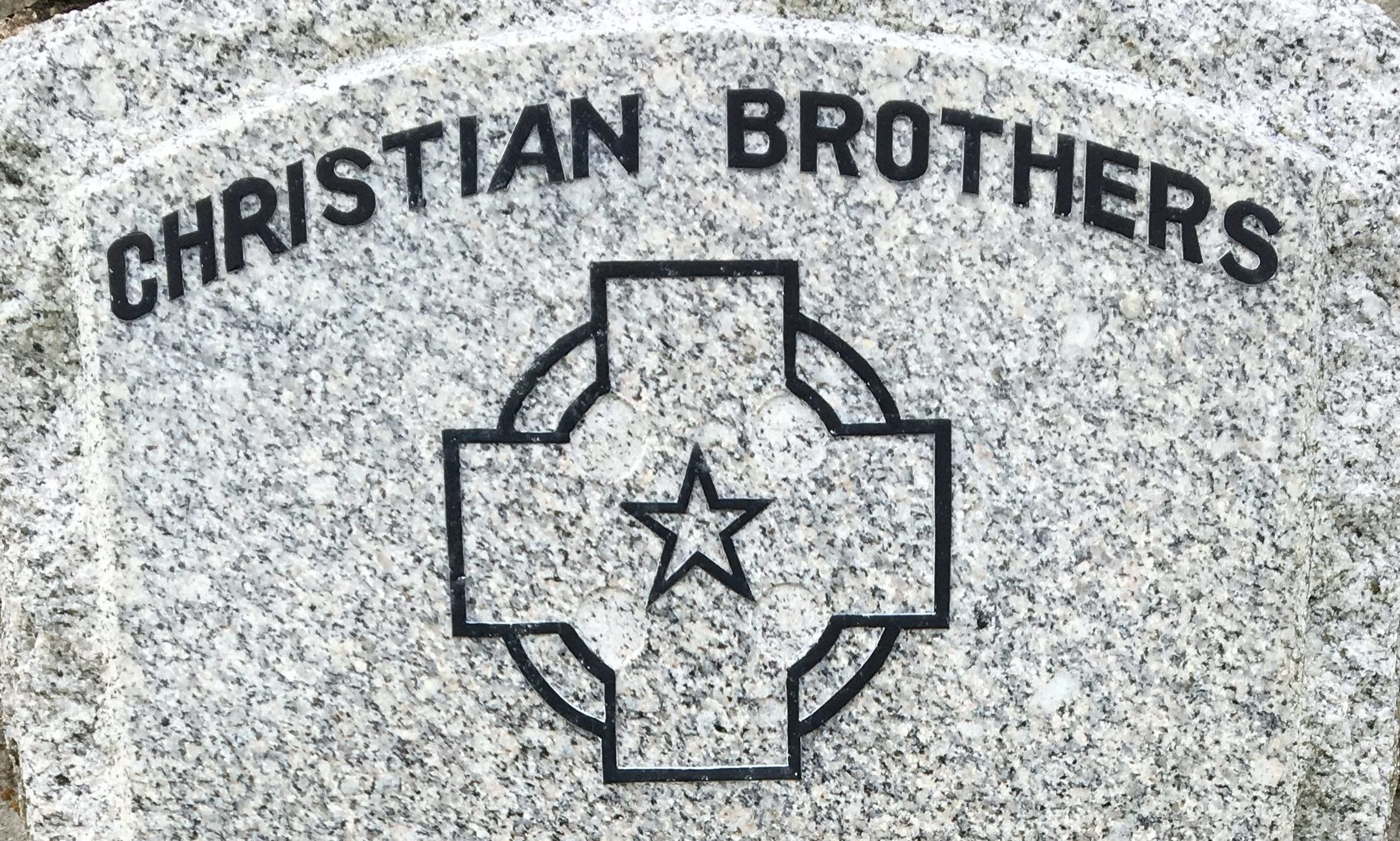 Christian Brothers grave in Falkland cemetery