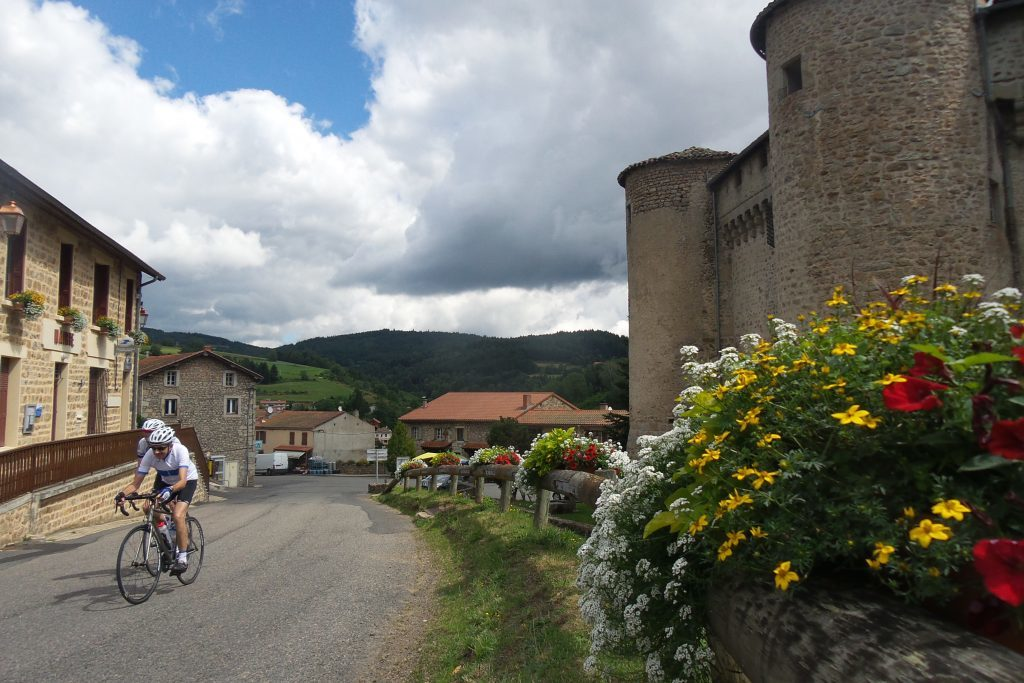 Cycling in the Massif Central