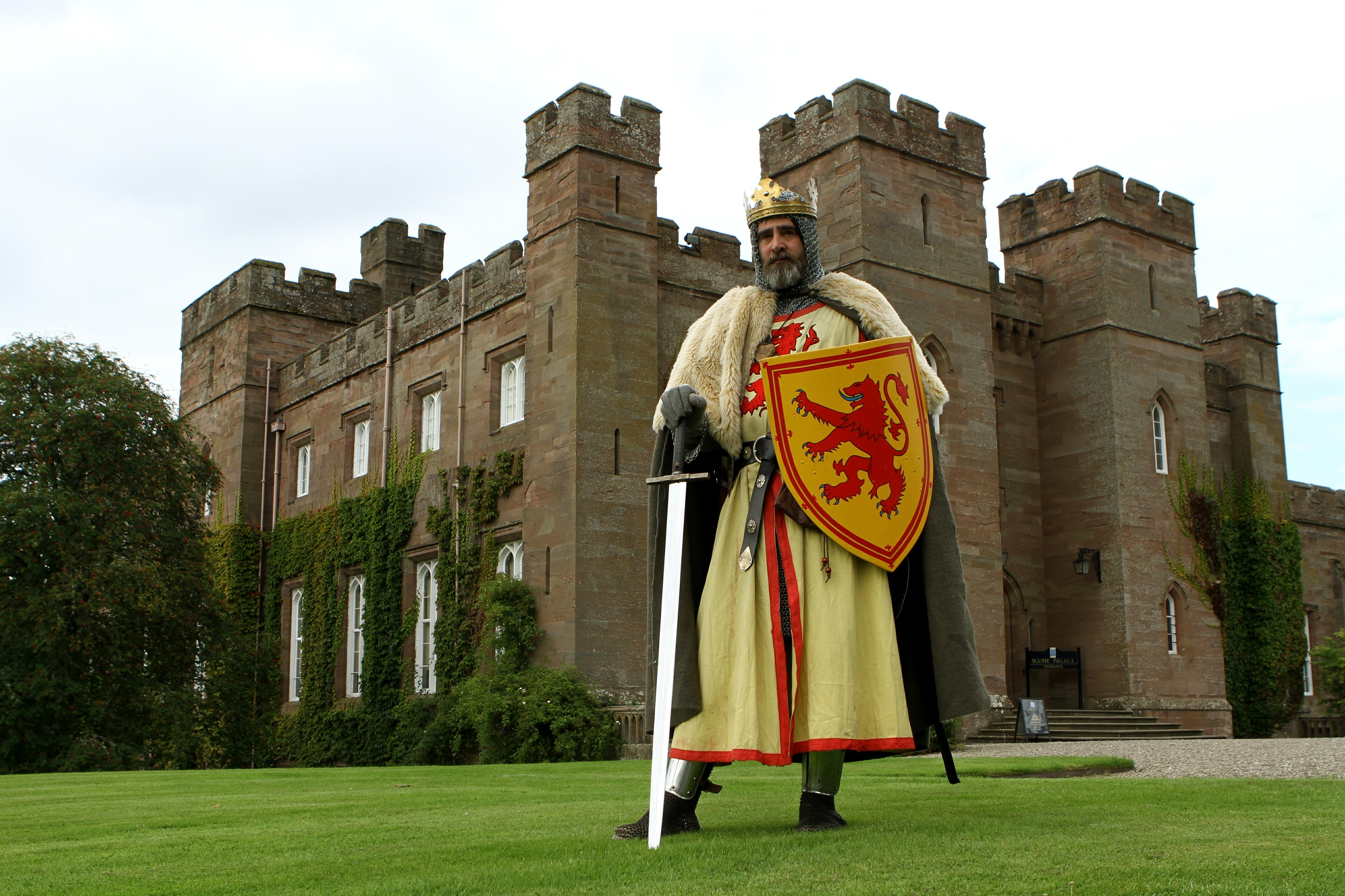 Scone Palace will be among the attractions travelling south with VisitScotland.