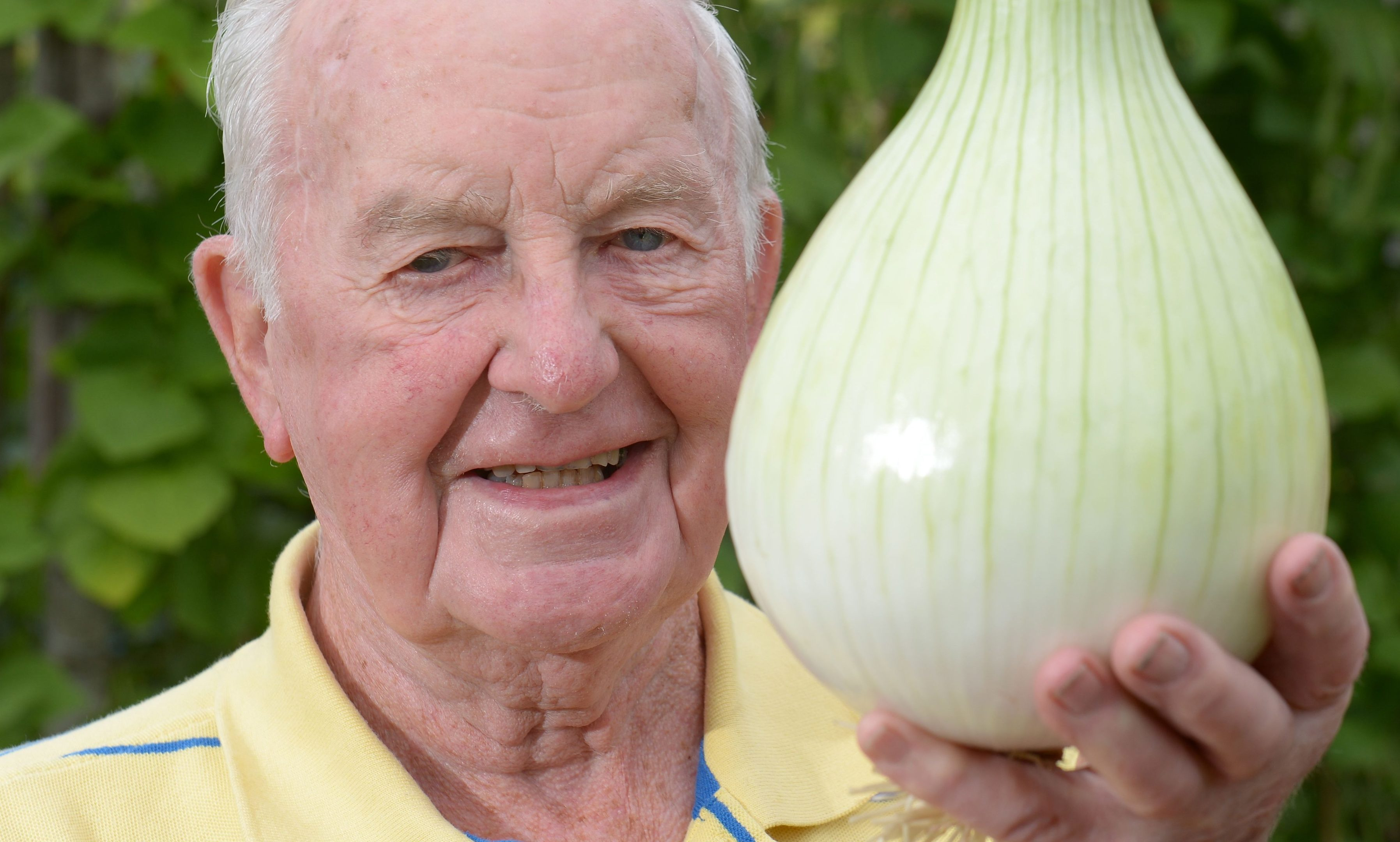 Jim Thomson grows the veg of champions.