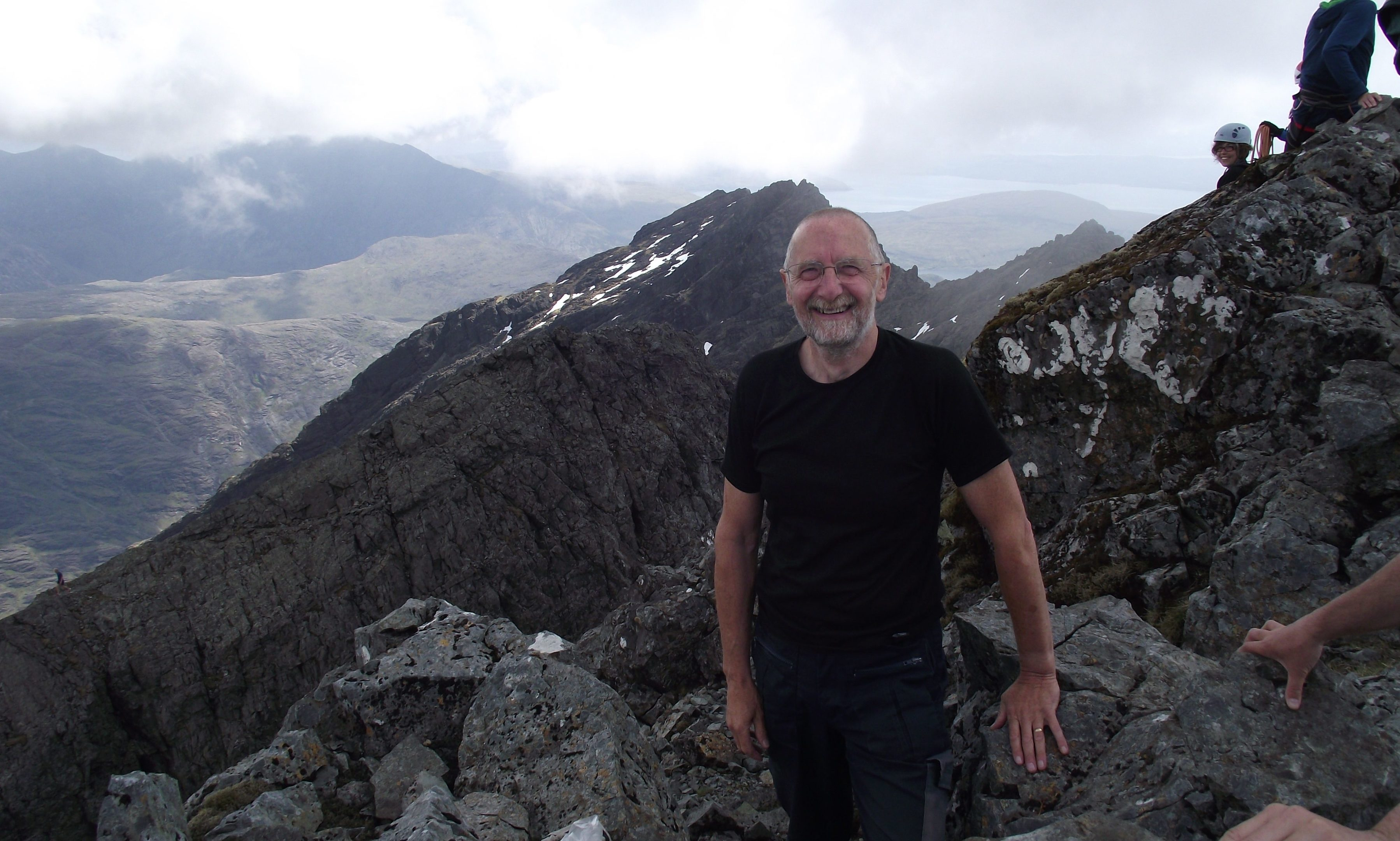 Dave Gordon of Mountaineering Scotland