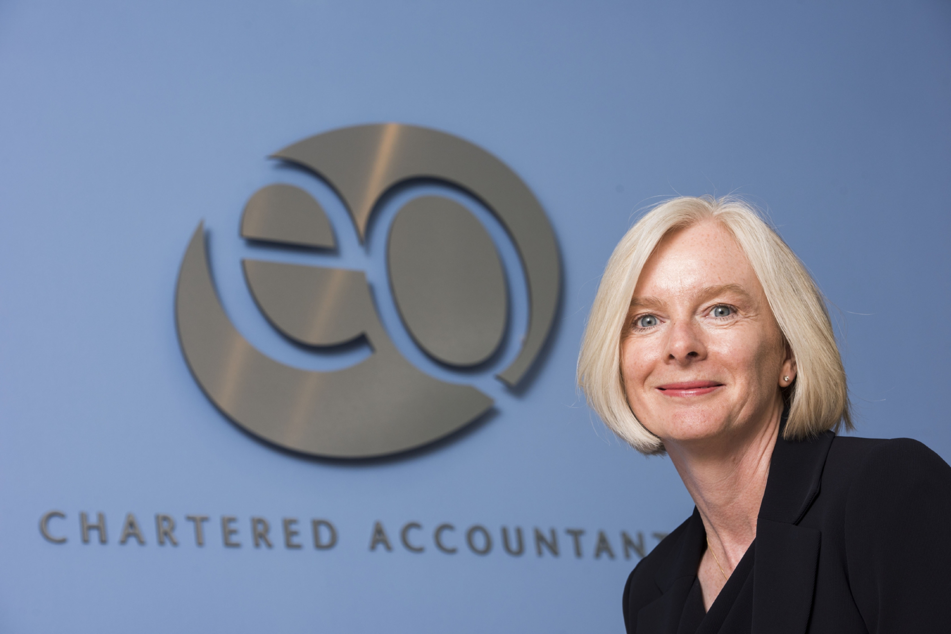 Angela Haig, new partner of EQ Accountants in Forfar. Pic Alan Richardson Dundee, Pix-AR.co.uk EQ Accountants. Angela Haig