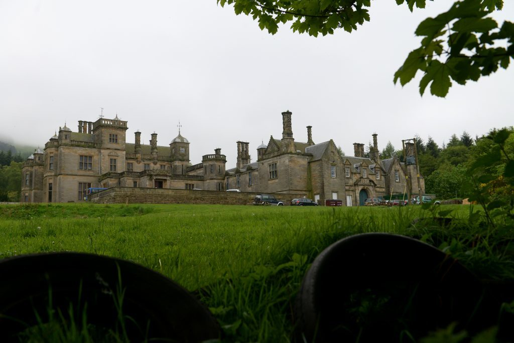 The former St Ninians School at Falkland