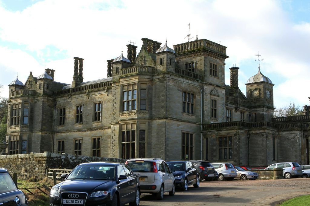 Falkland House School in Falkland today. It is completely unrelated to the long closed St Ninian's School