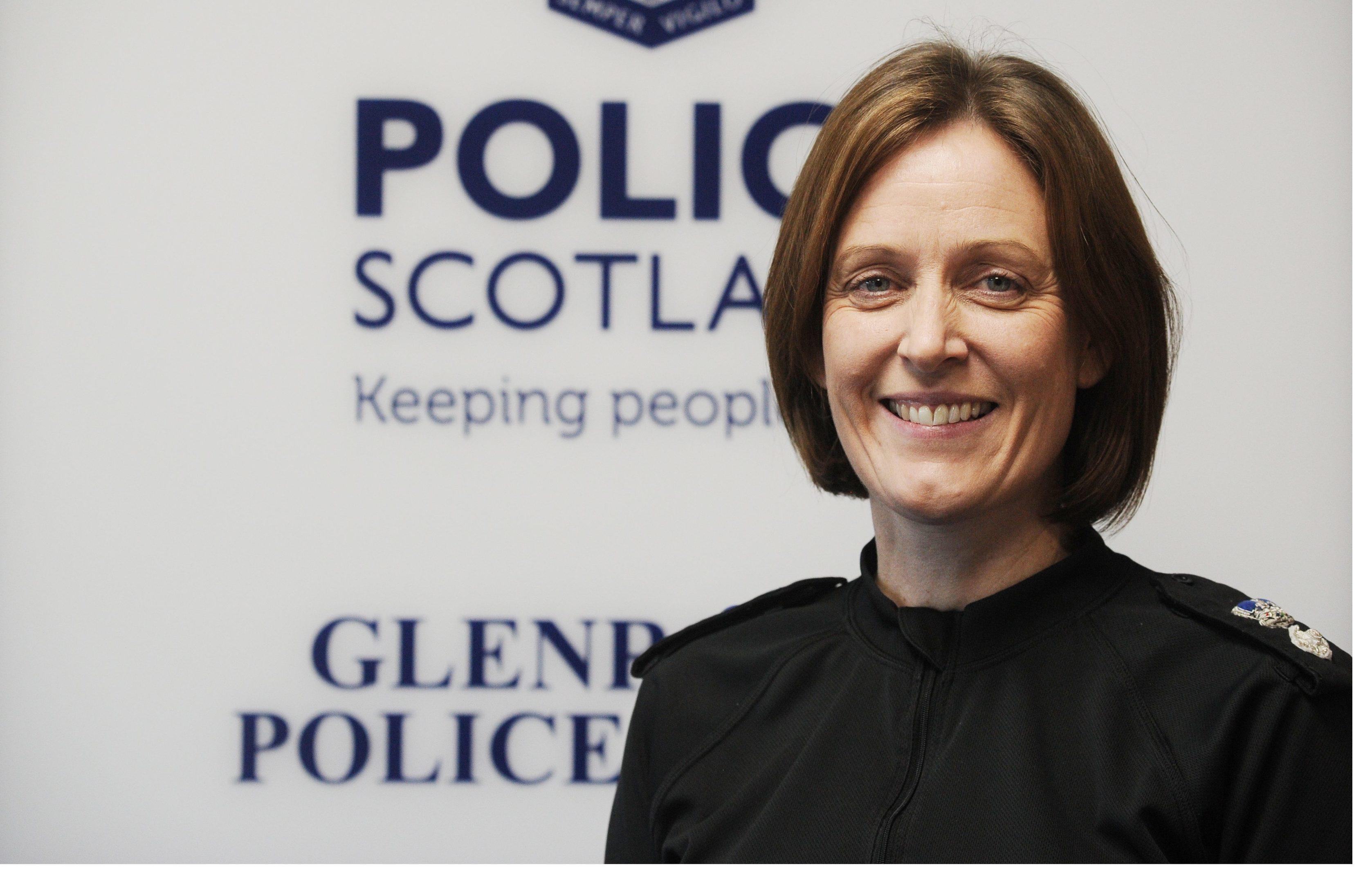 Chief Superintendent  Angela McLaren of Fife Division Police Scotland