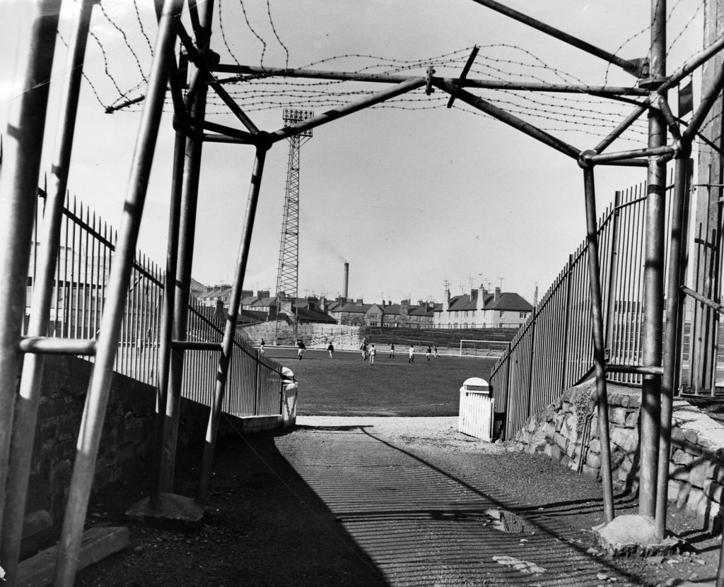 March 1964: A view of the ground.