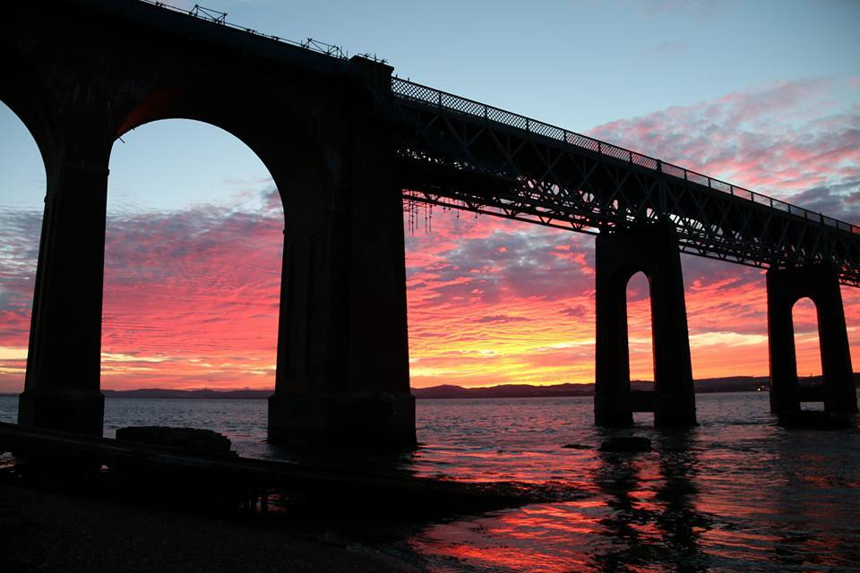 A Tay Bridge study by Helen Glassford in 2016