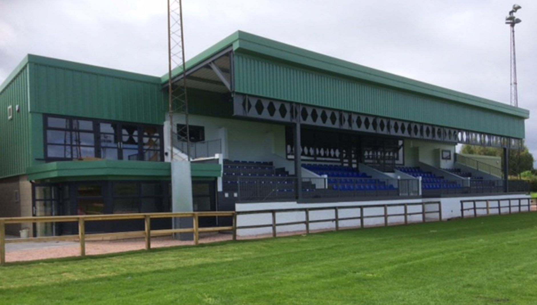 Howe of Fife's redeveloped Duffus Park may now have the best facilities in the BT National Leagues.