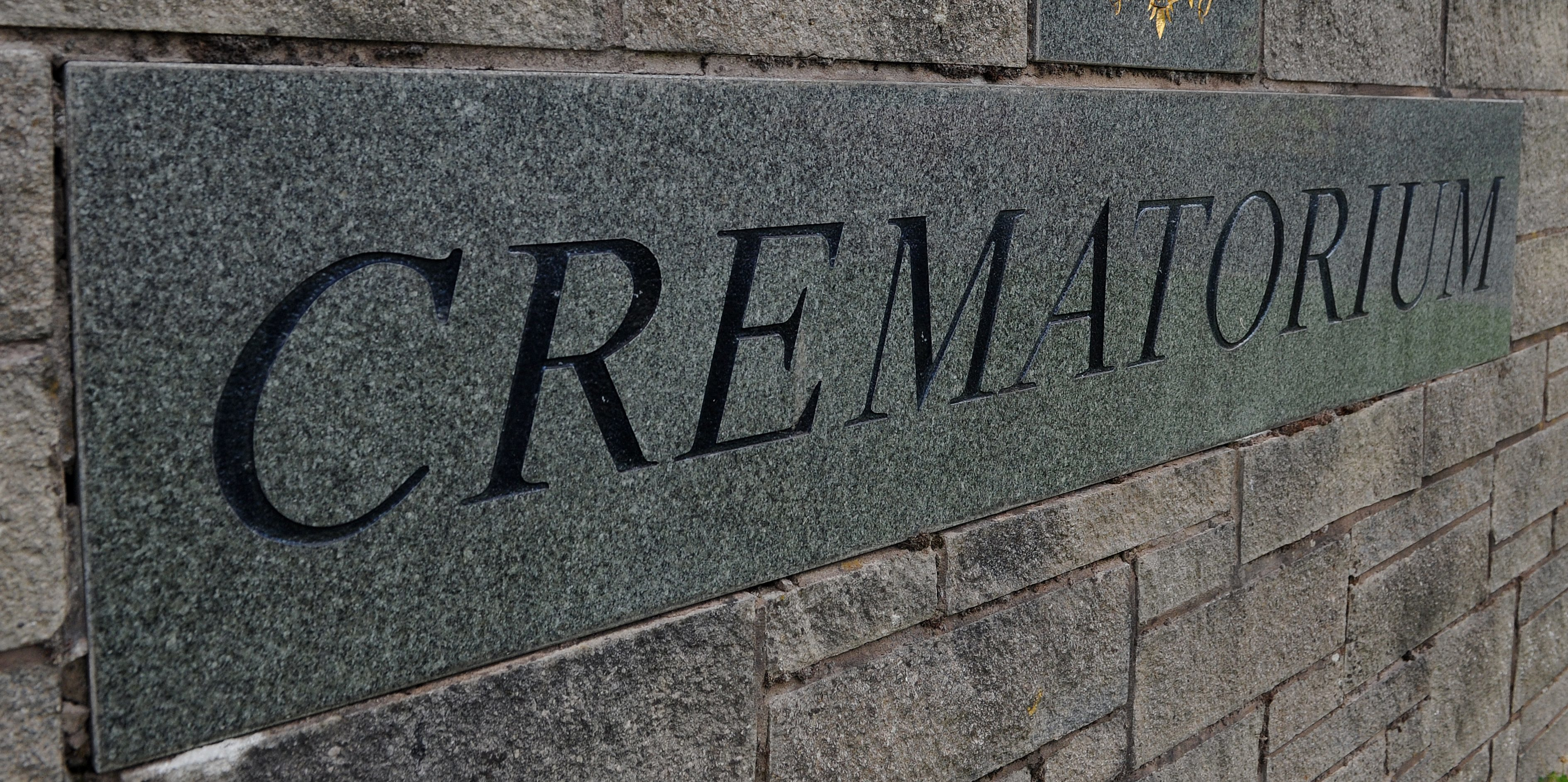 Perth Crematorium entrance.