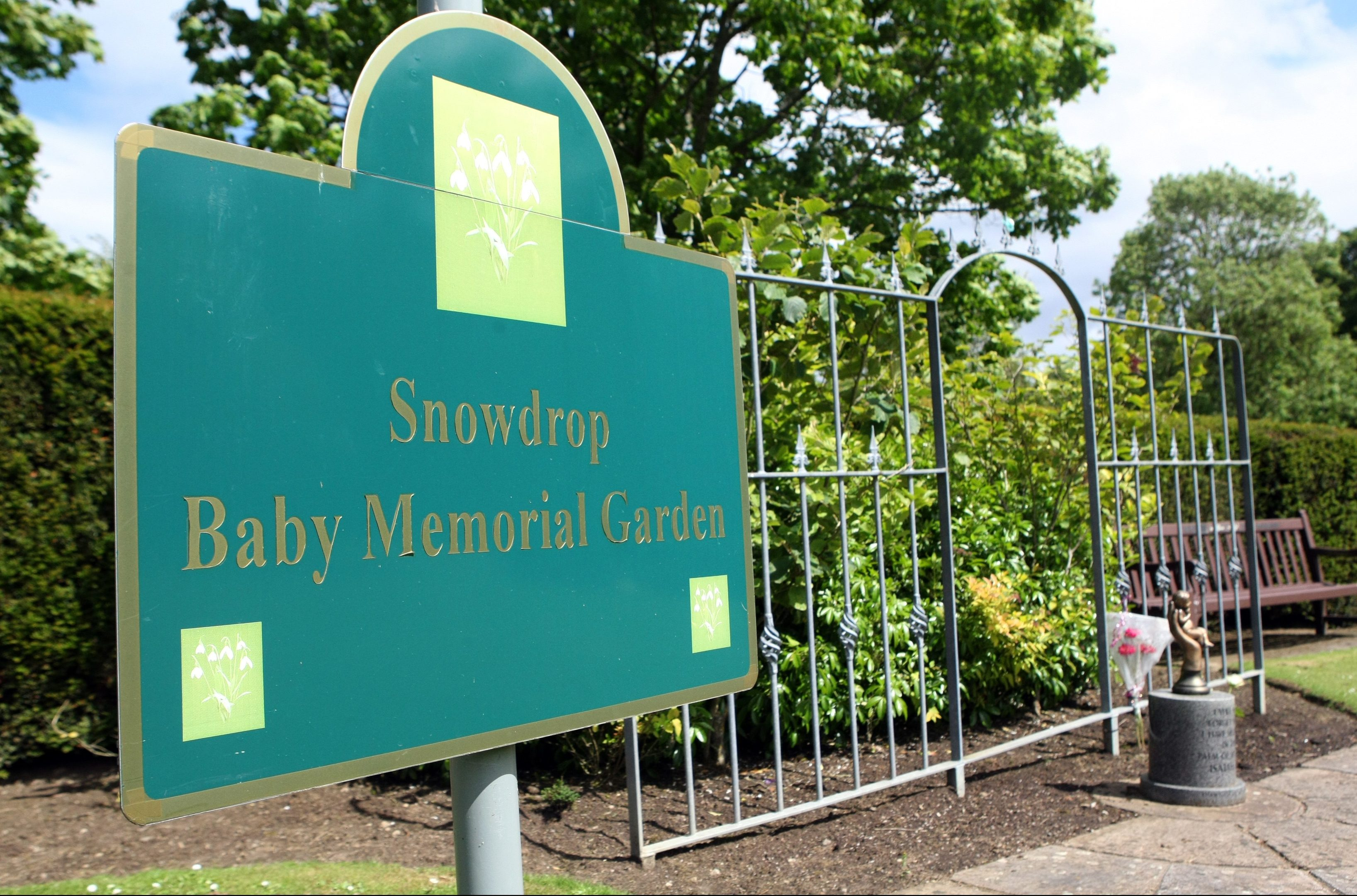 Kirkcaldy Crematorium and Remembrance Garden with Snowdrop Baby Memorial Garden.