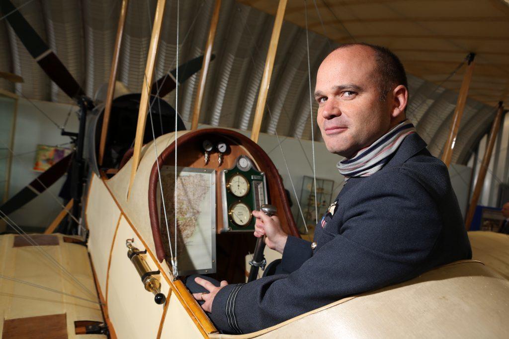 Wing Commander Roger Elliot, OC No.2 Sqdn RAF Lossiemouth.