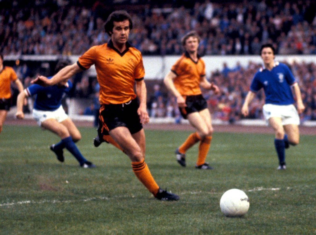 Dundee United's Frank Kopel in action.