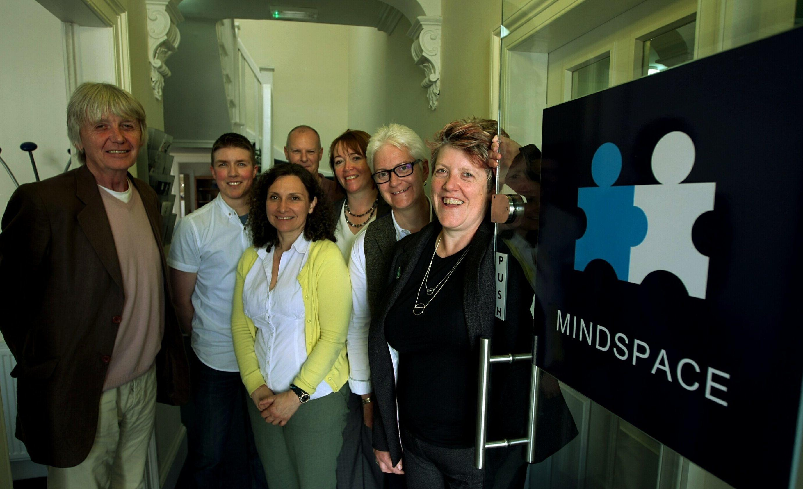 L/R, Alastair Jamieson, Alex Taylor, Andreja Mclean, Douglas Stewart, Alison McKay, Jillian Milne - Chief Executive, and Amanda Millar - Chairman.