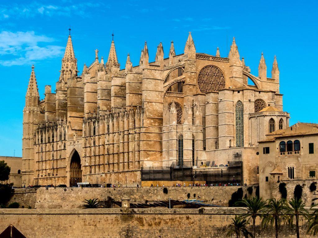 The Cathedral of Santa Maria of Palma.