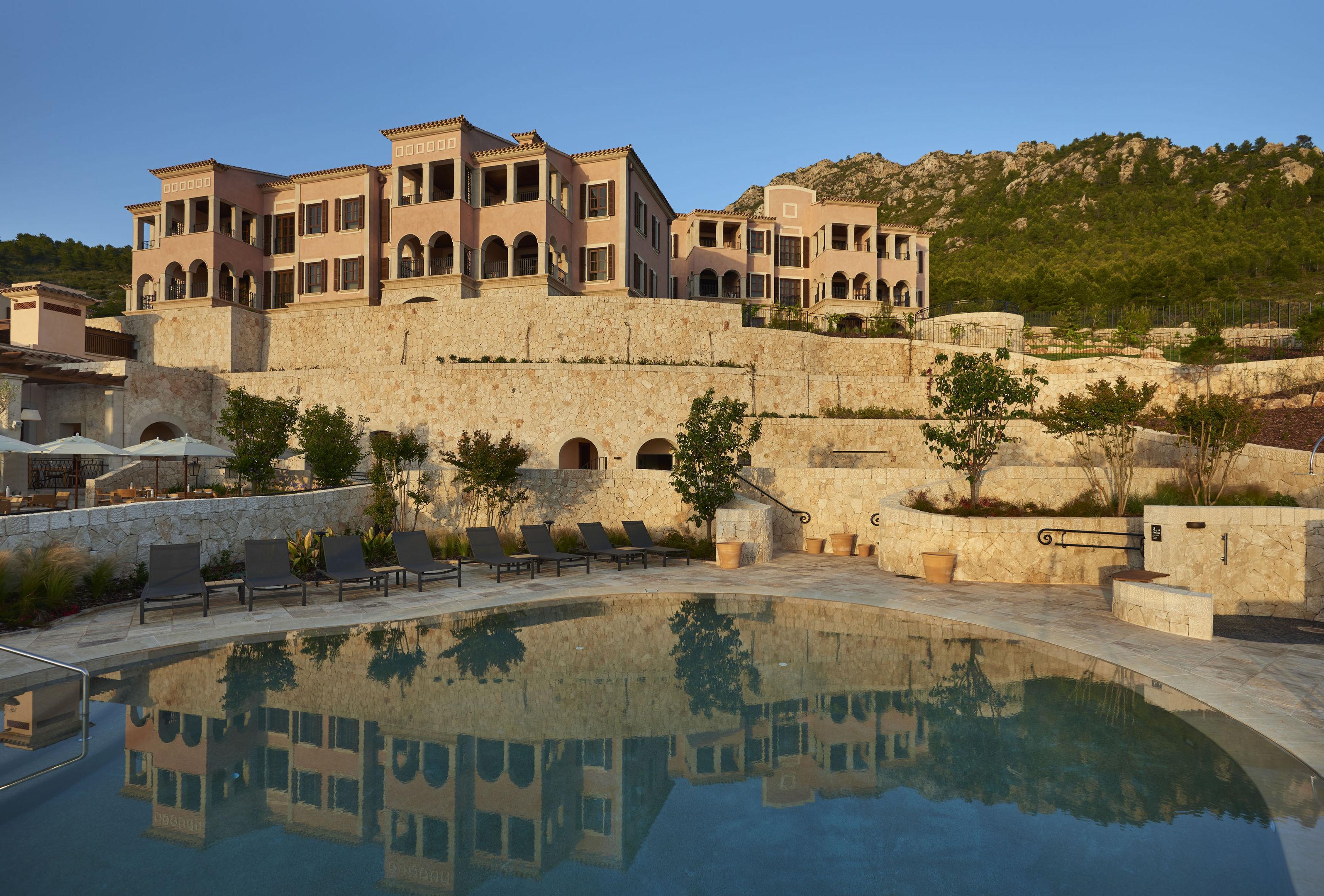 Exterior of the Park Hyatt, Mallorca.