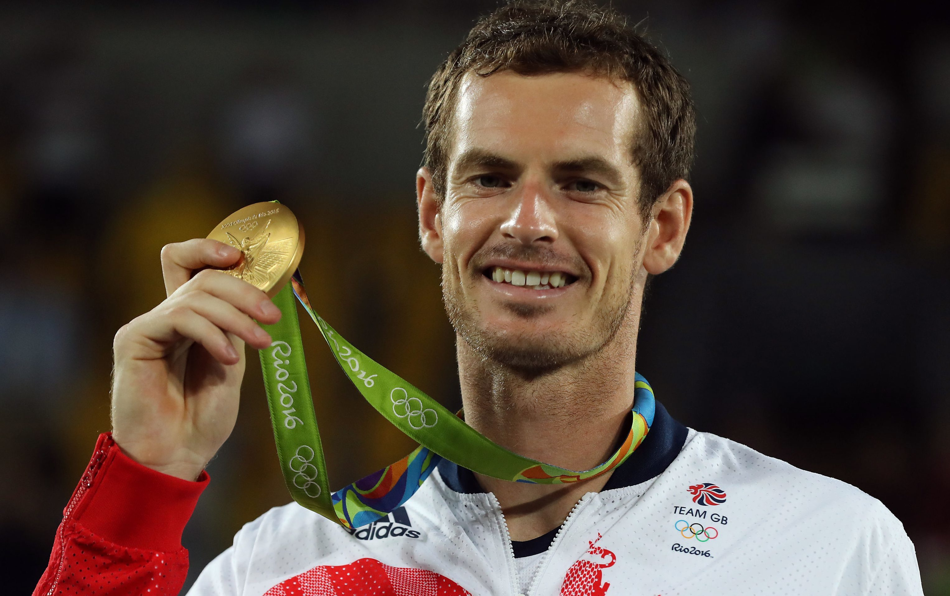 Andy Murray claimed gold in men's singles tennis.