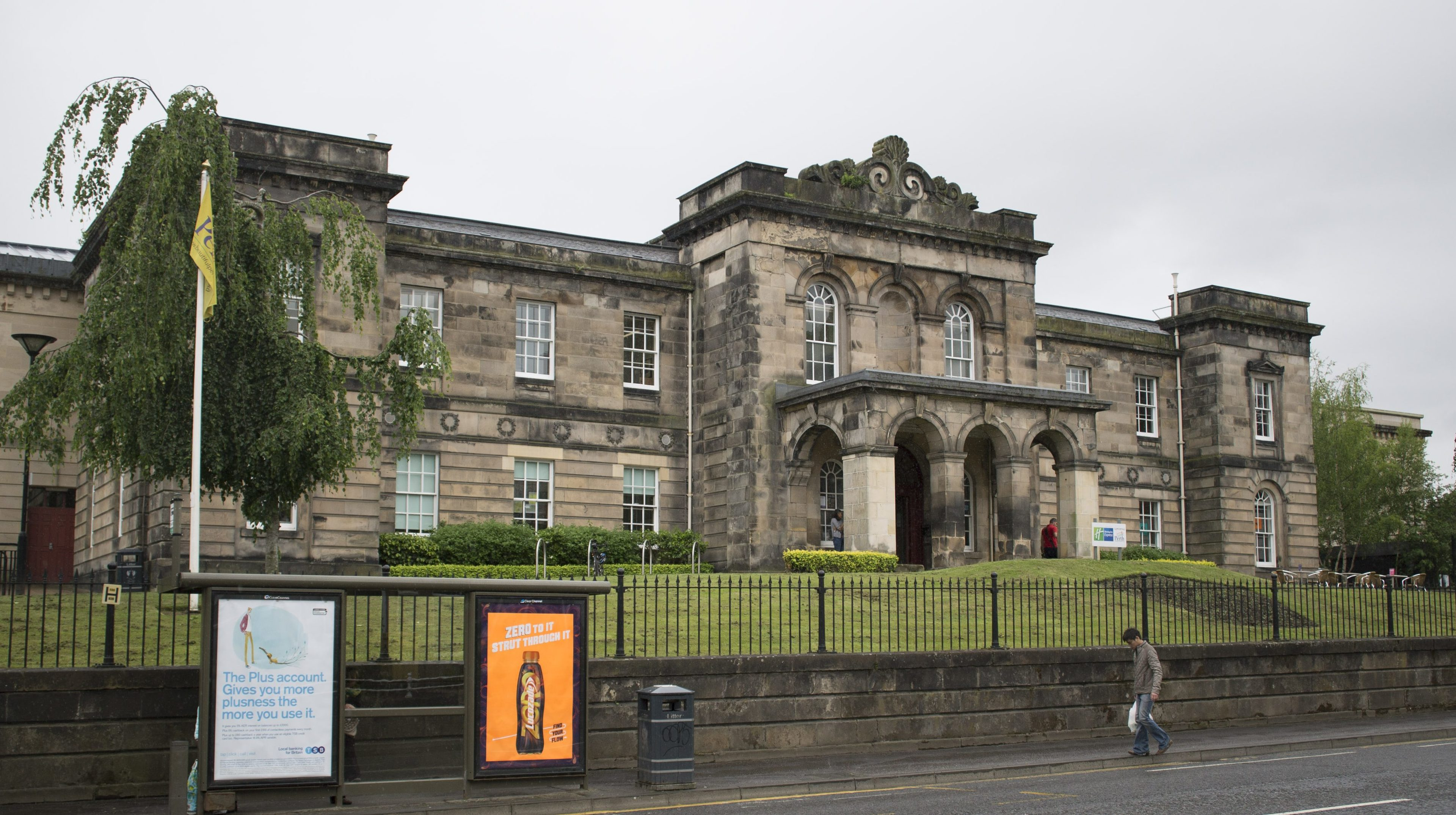 The AK Bell Library in Perth.