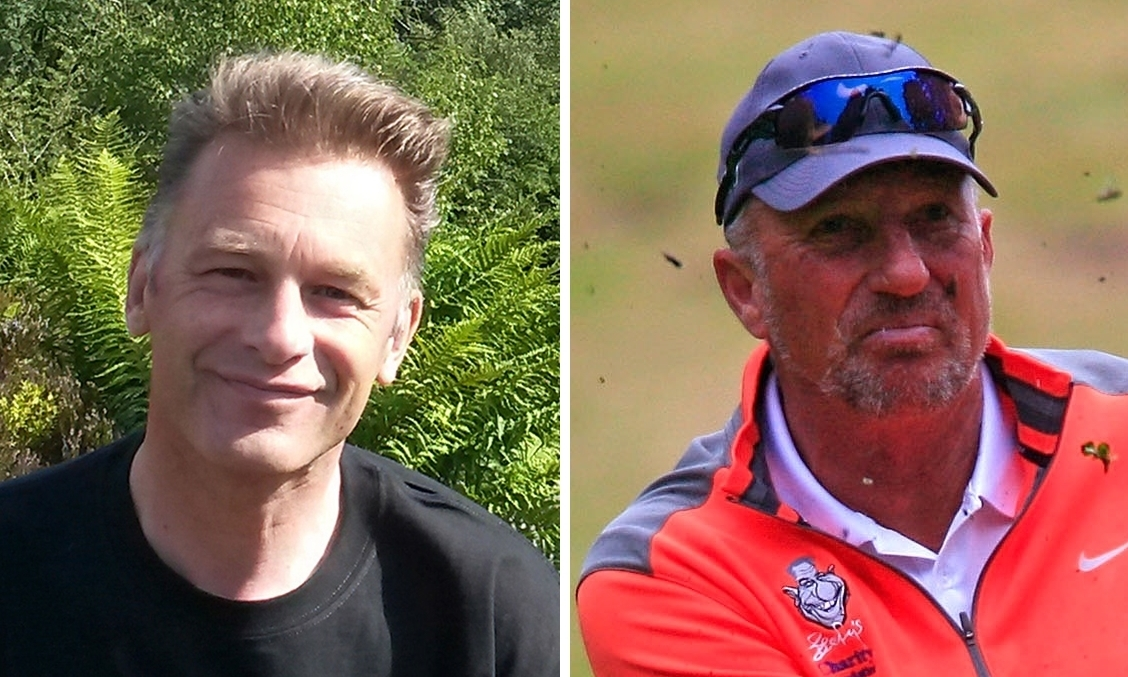 Chris Packham and Sir Ian Botham.