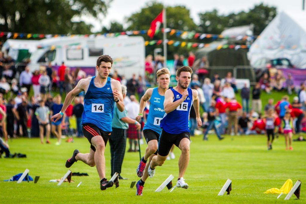 Crieff Highland Gathering benefited from BID funding.