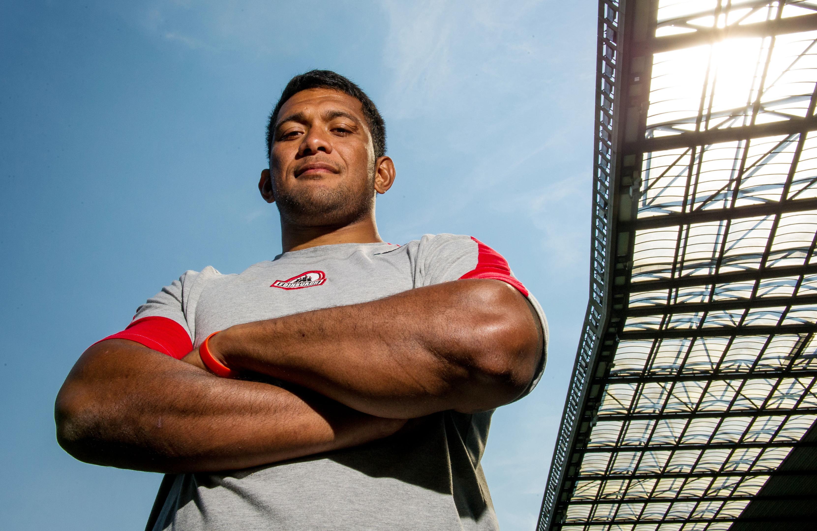 Tongan Viliami Fihaki will make his Edinburgh debut at his old club Sale on Friday.