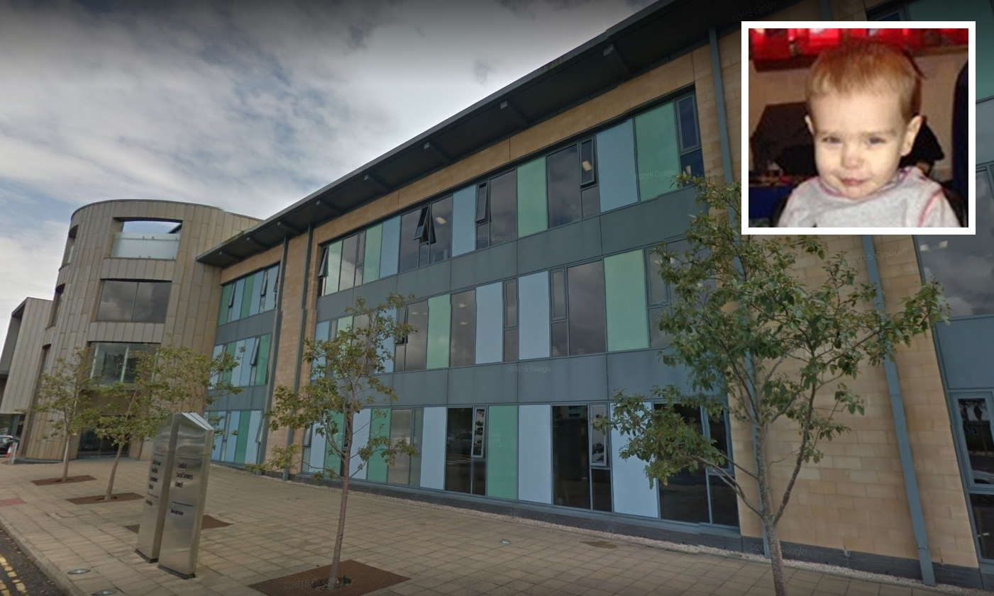 The Scottish Social Services Council headquarters in Dundee. Inset: Liam Fee.