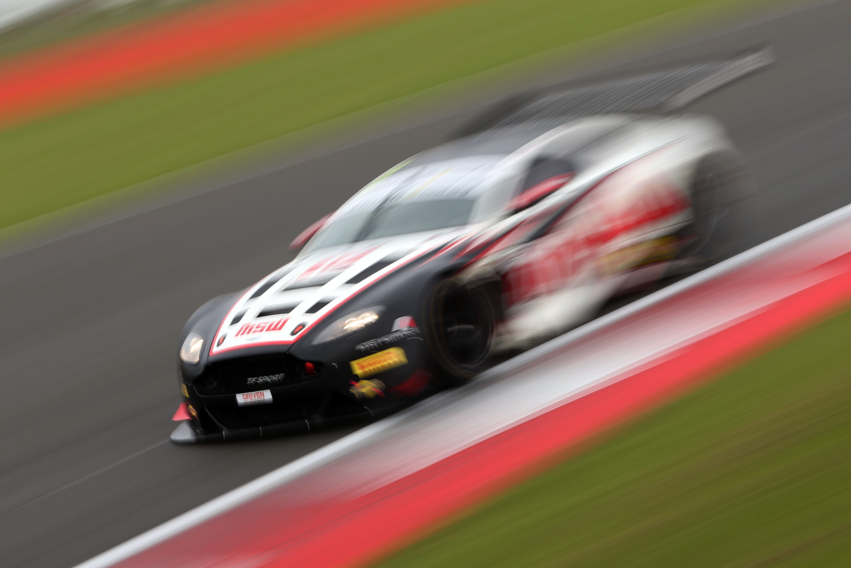 The TF Sport #17 Aston Martin