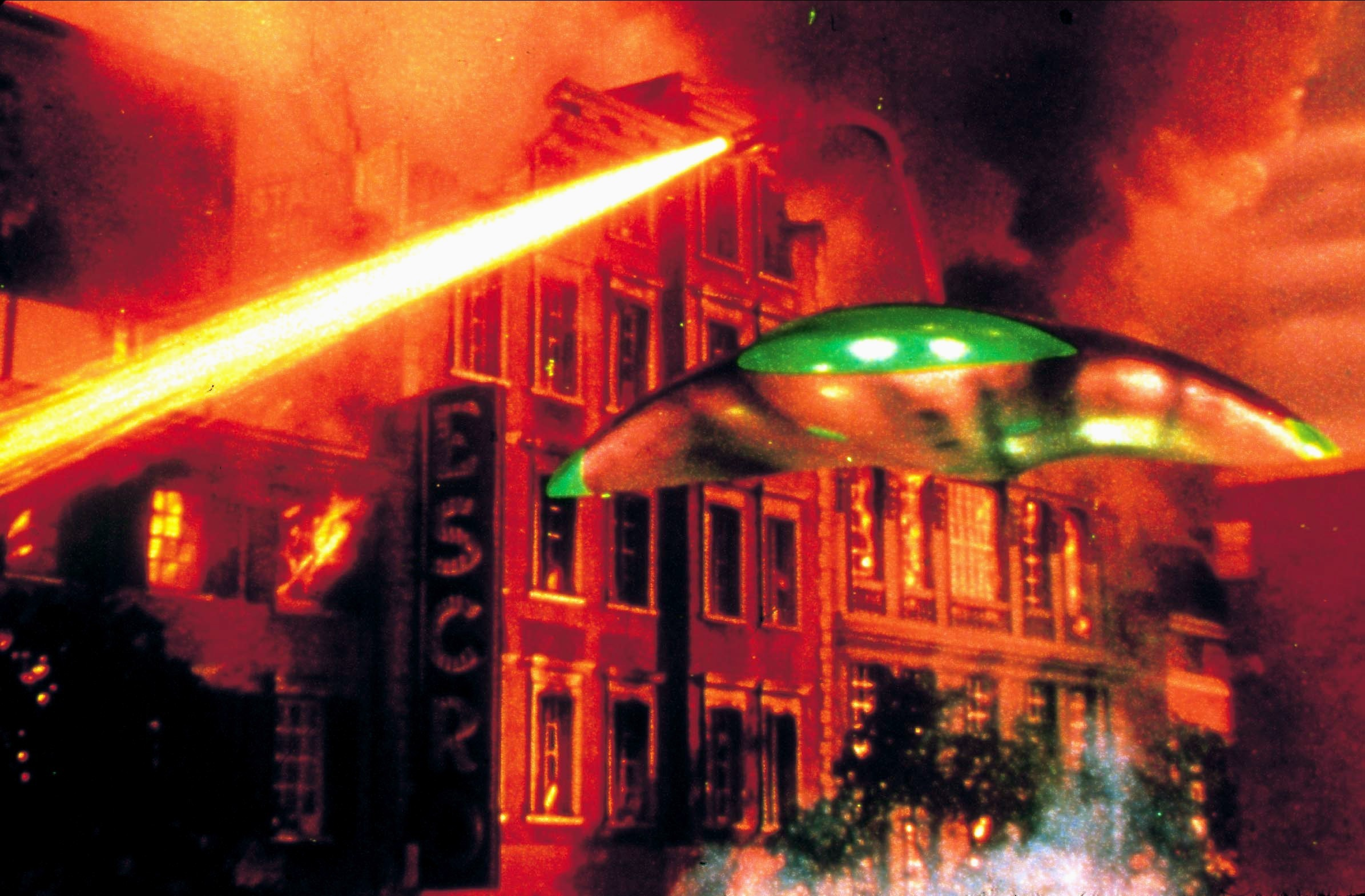 Alien spacecraft in the 1953 film The War of the Worlds.