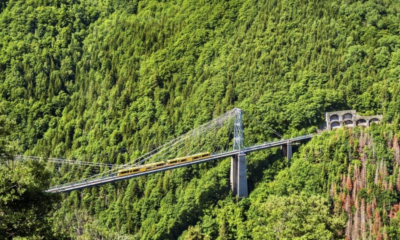 The Yellow Train, Pyrenees.