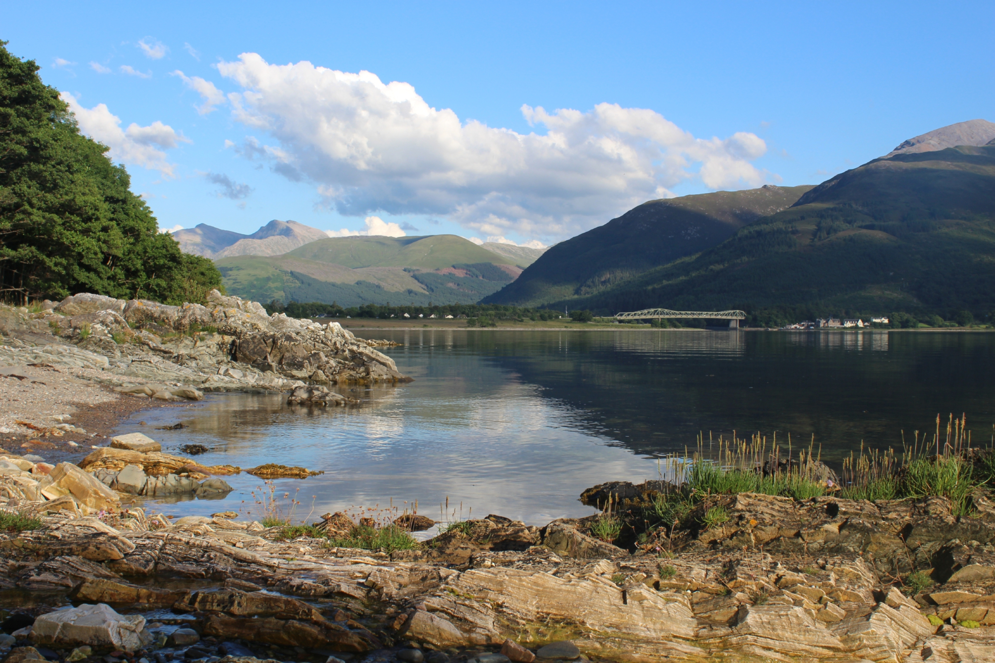 Looking down Loch Linnhe from North Ballachullish.